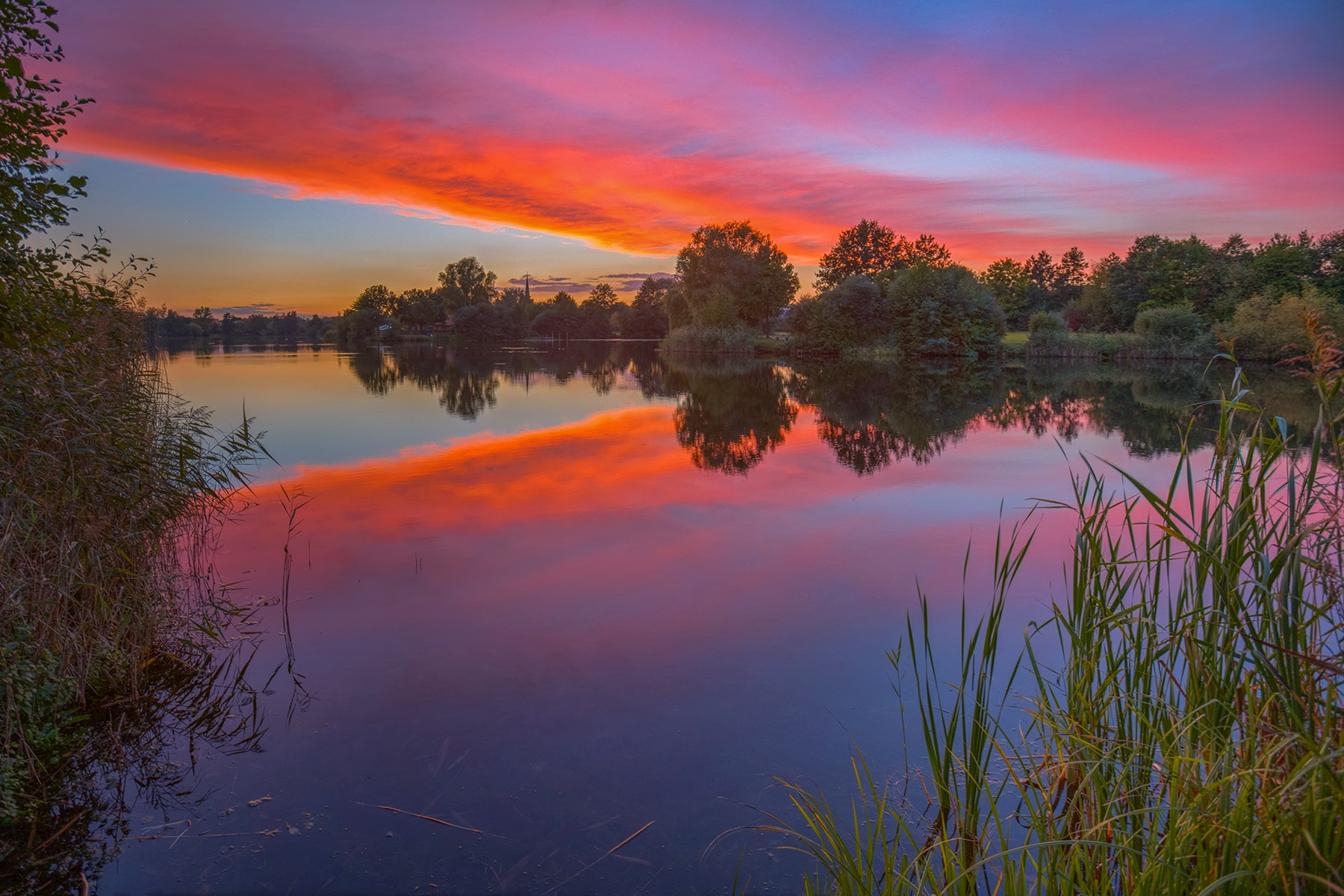 Today's sunset in Dannenberg by Maik Richter Photography