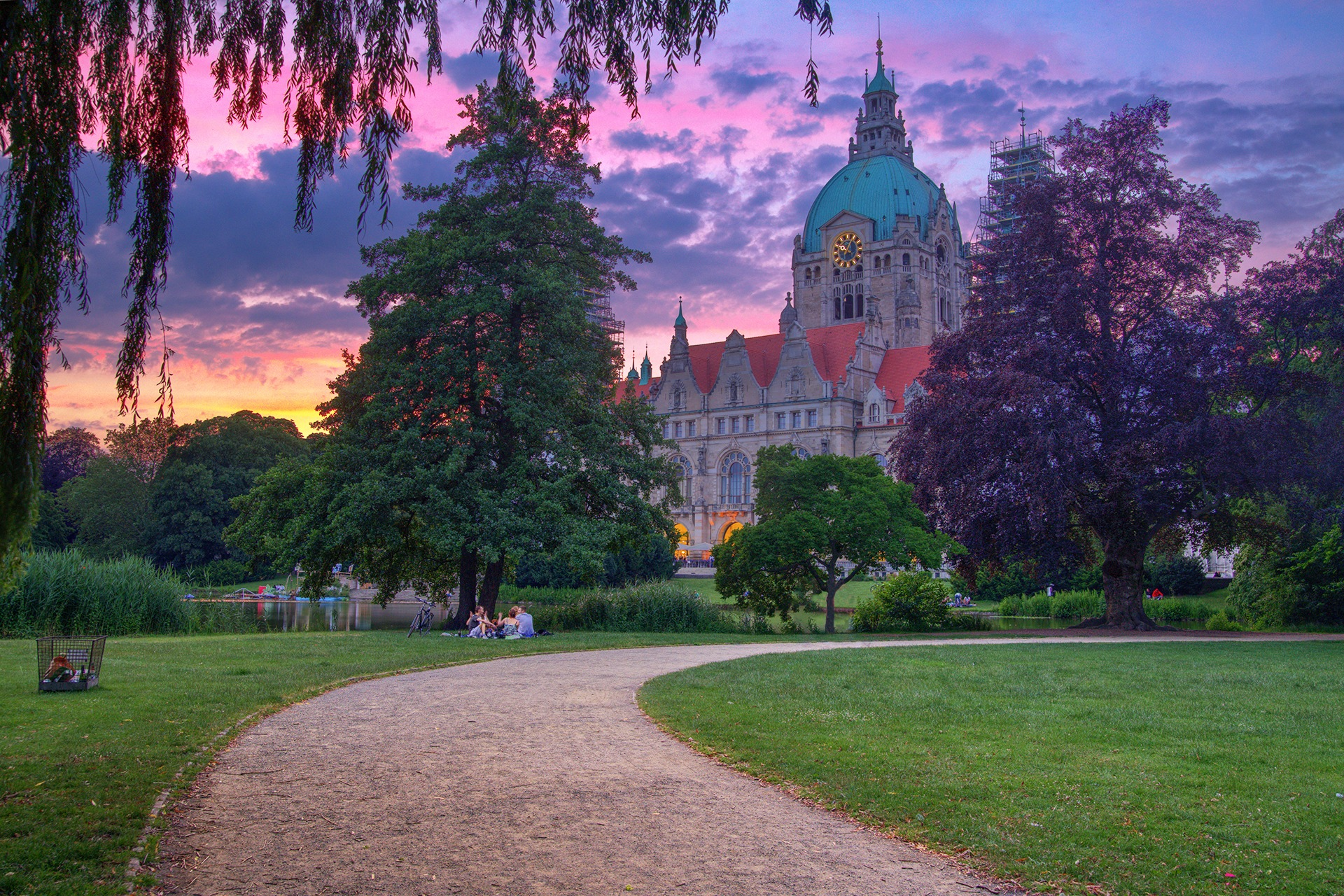 Maschpark Hannover by Maik Richter Photography