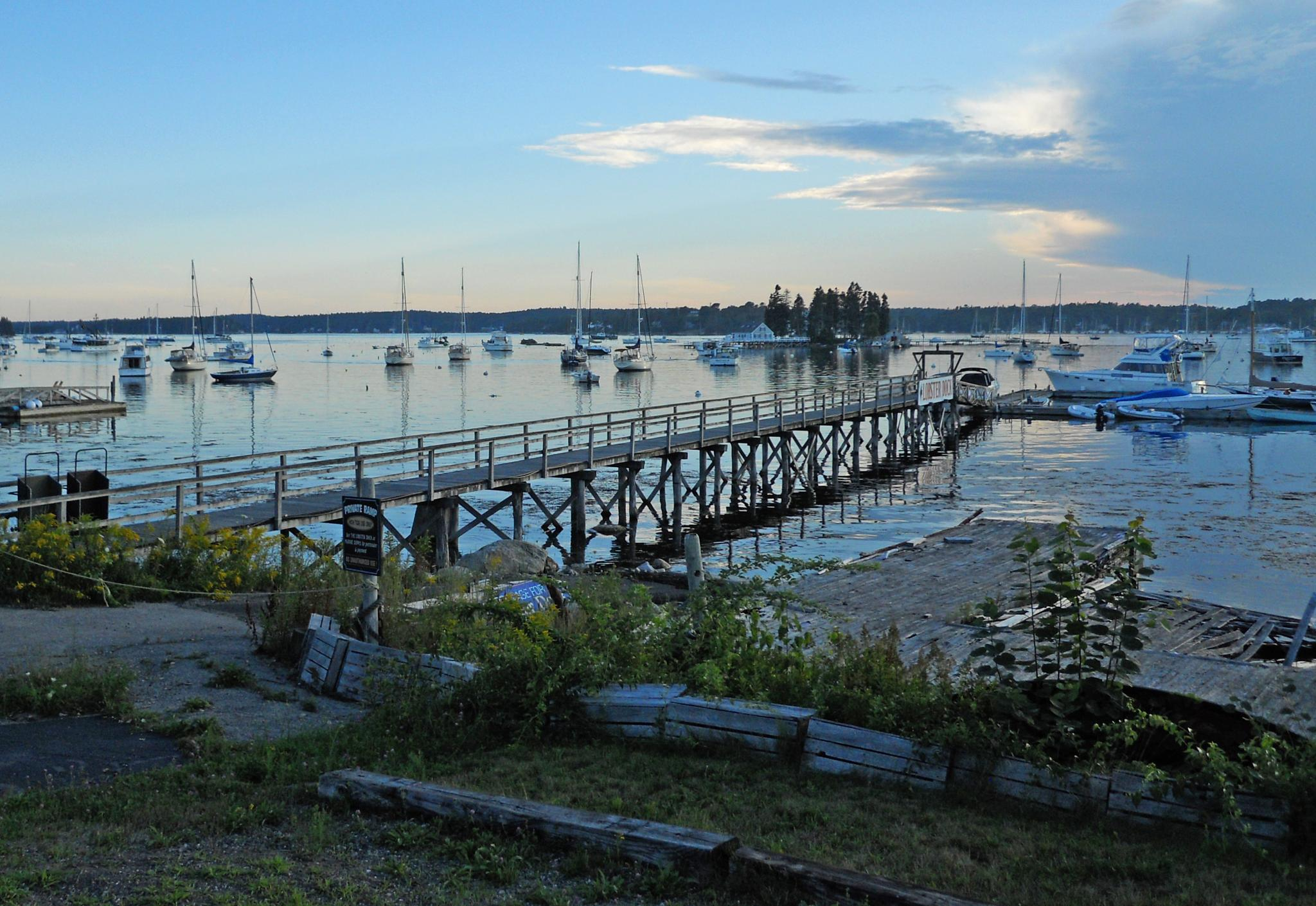 Evening at Boothbay Harbor by WCGPhoto1