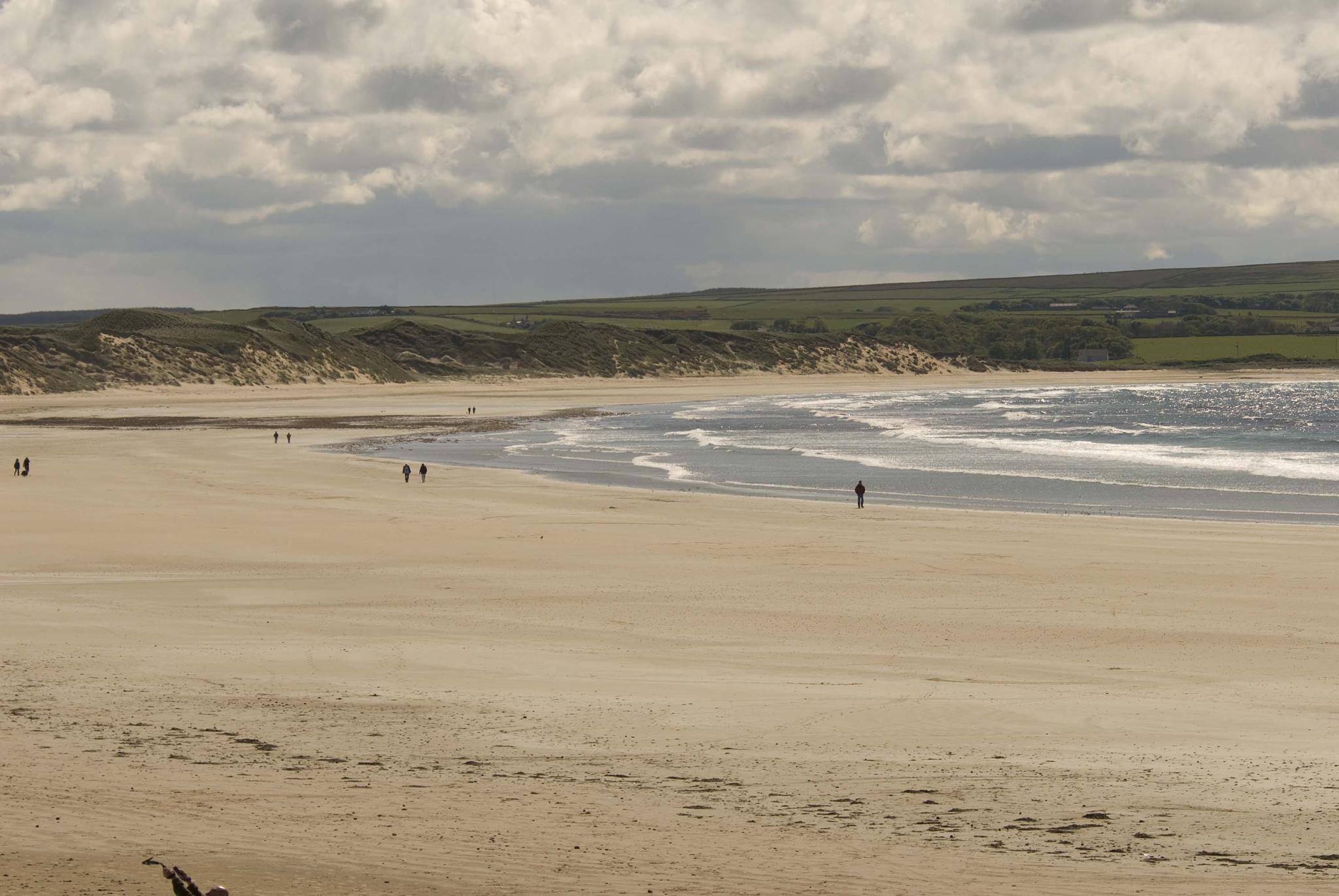 Dunnet beach by leslie.mcbeath
