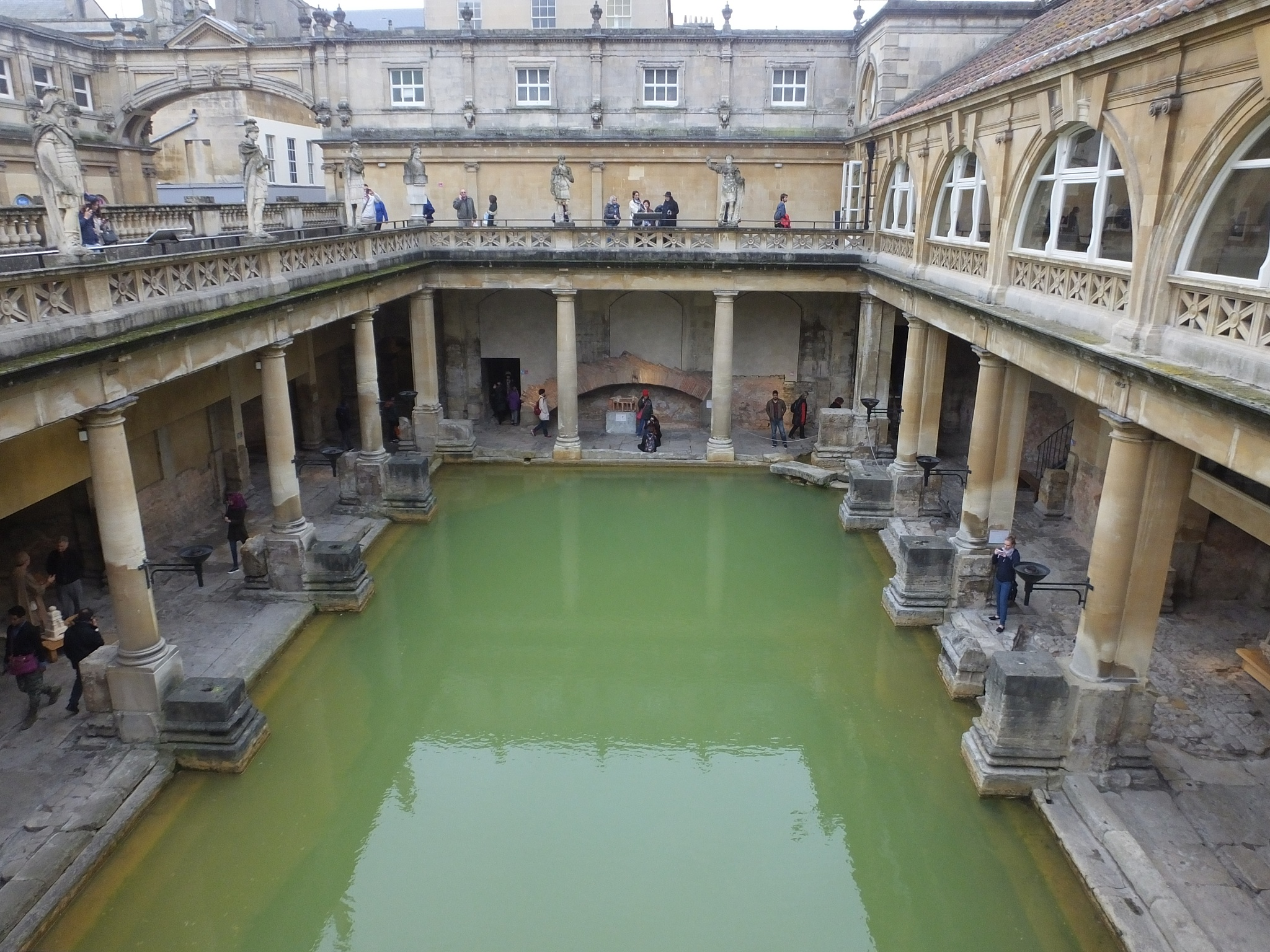 Roman Baths by Dave Turner