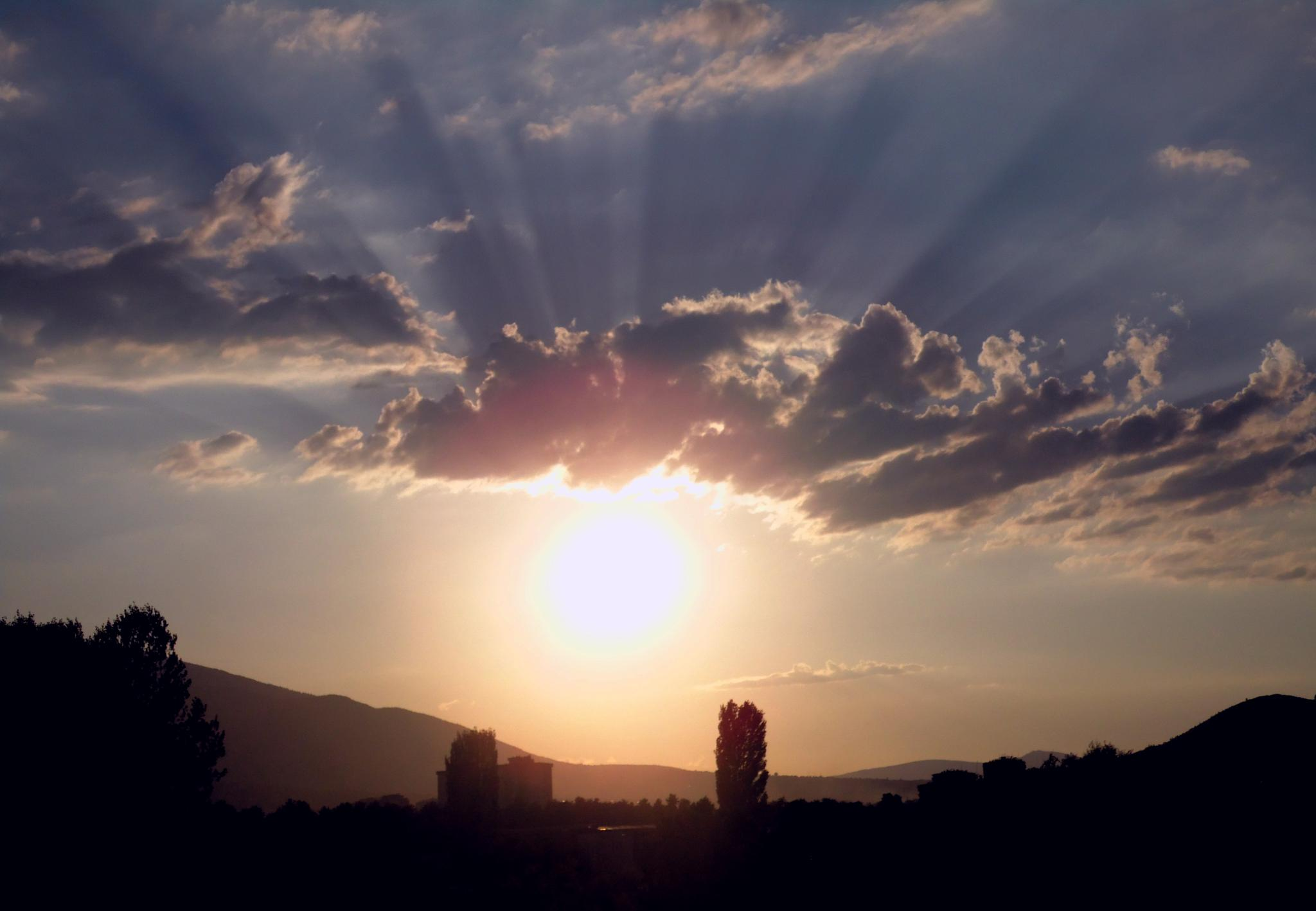 sunset beauty by Tanja