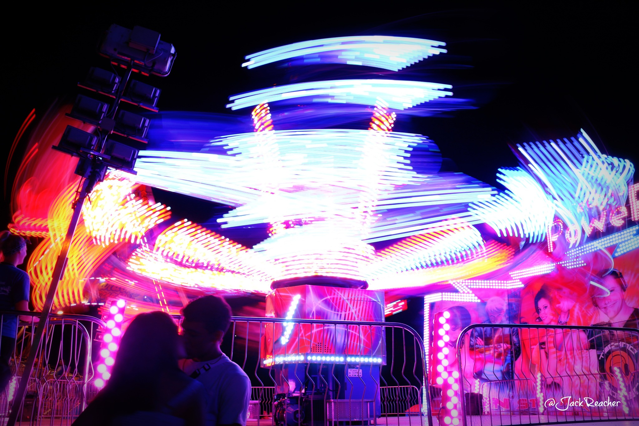 One of many dizzy rides at the 50th state fair by yule.andrada