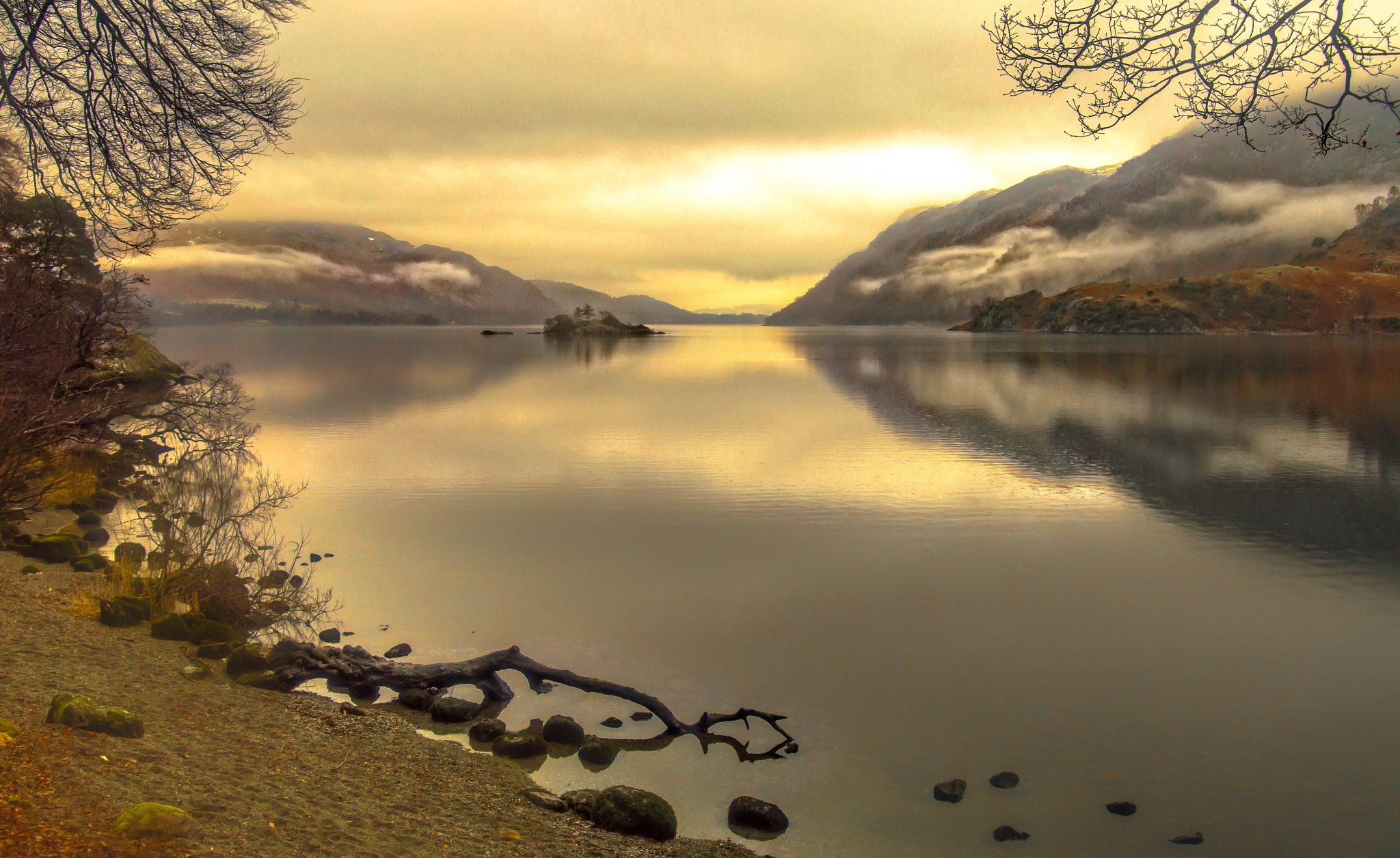 tranquility at Ullswater,Lake District Uk. by robin.howe.56