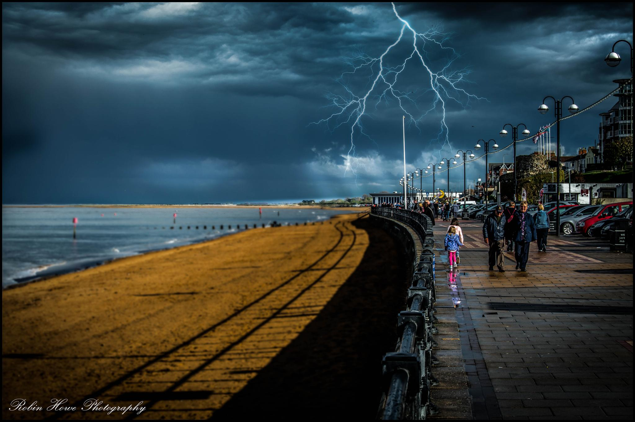 Dramatic day at Cleethorpes Lincolnshire. by robin.howe.56
