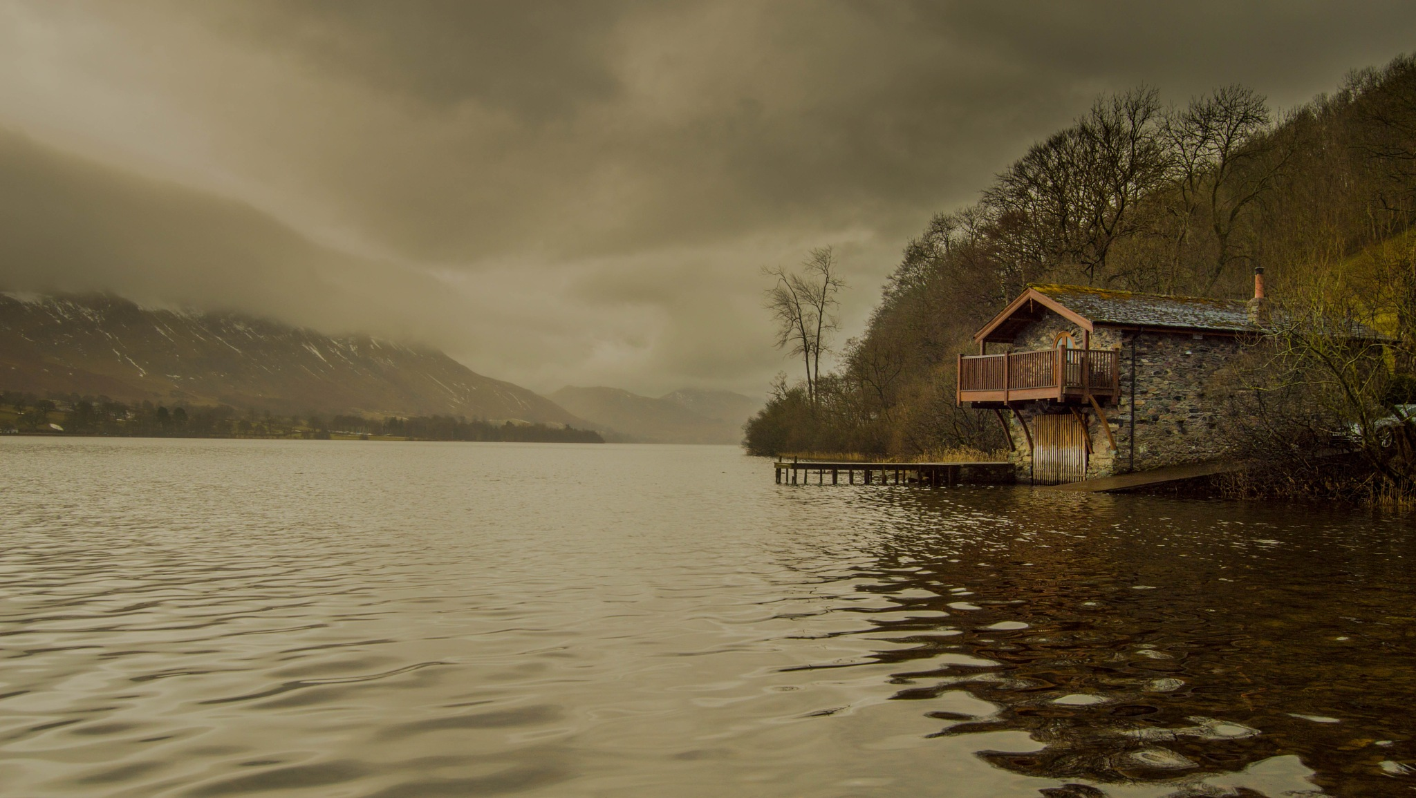 Boathouse on Ullswater,Lake District by robin.howe.56
