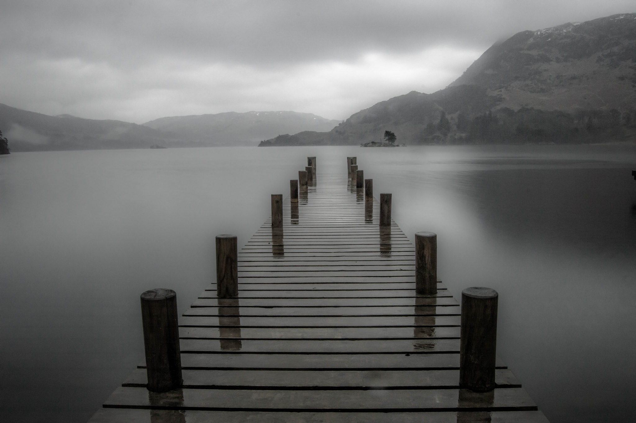 Jetty at Ullswater,lake district by robin.howe.56
