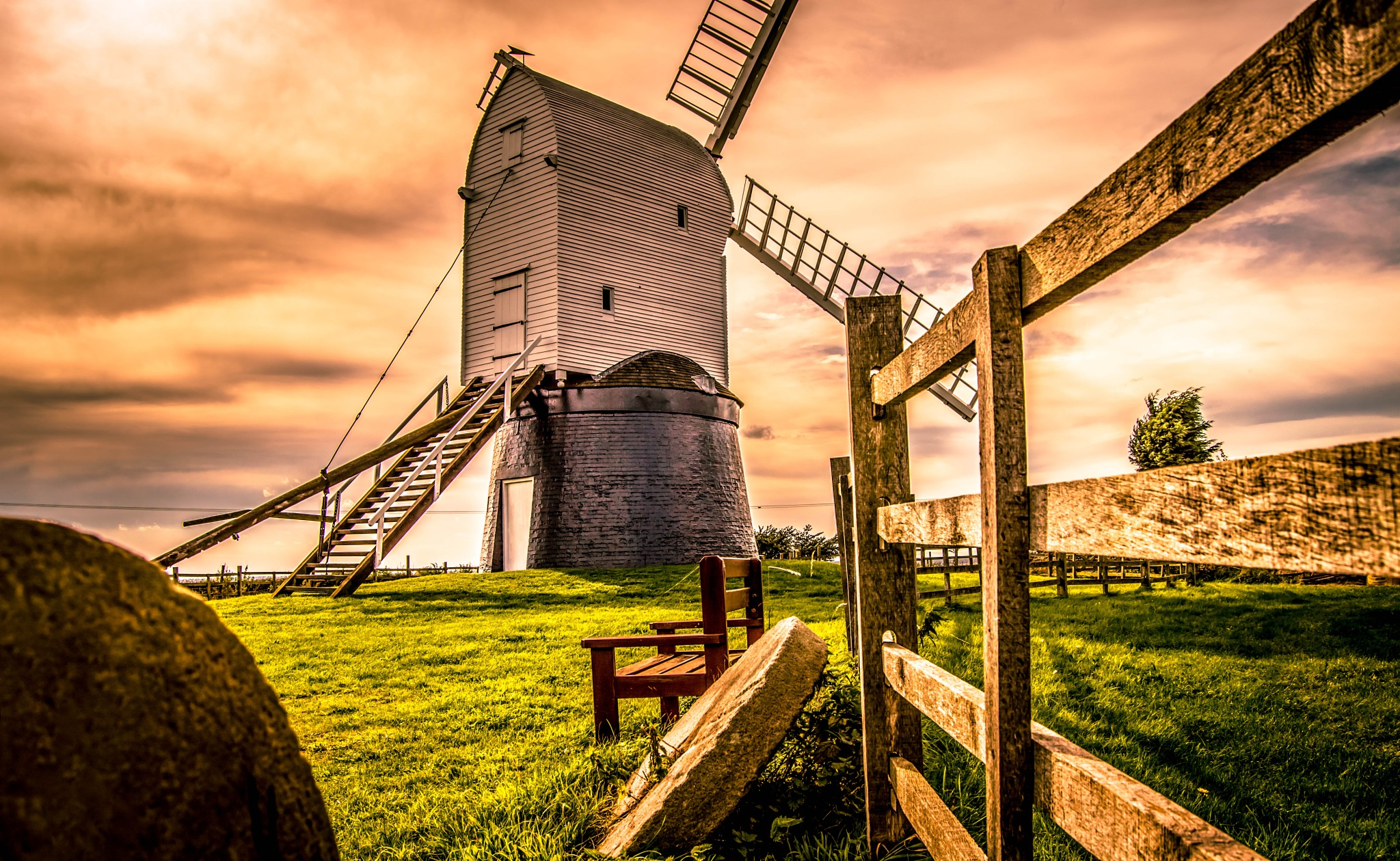 Another shot of Wrawby Windmill in Lincolnshire by robin.howe.56