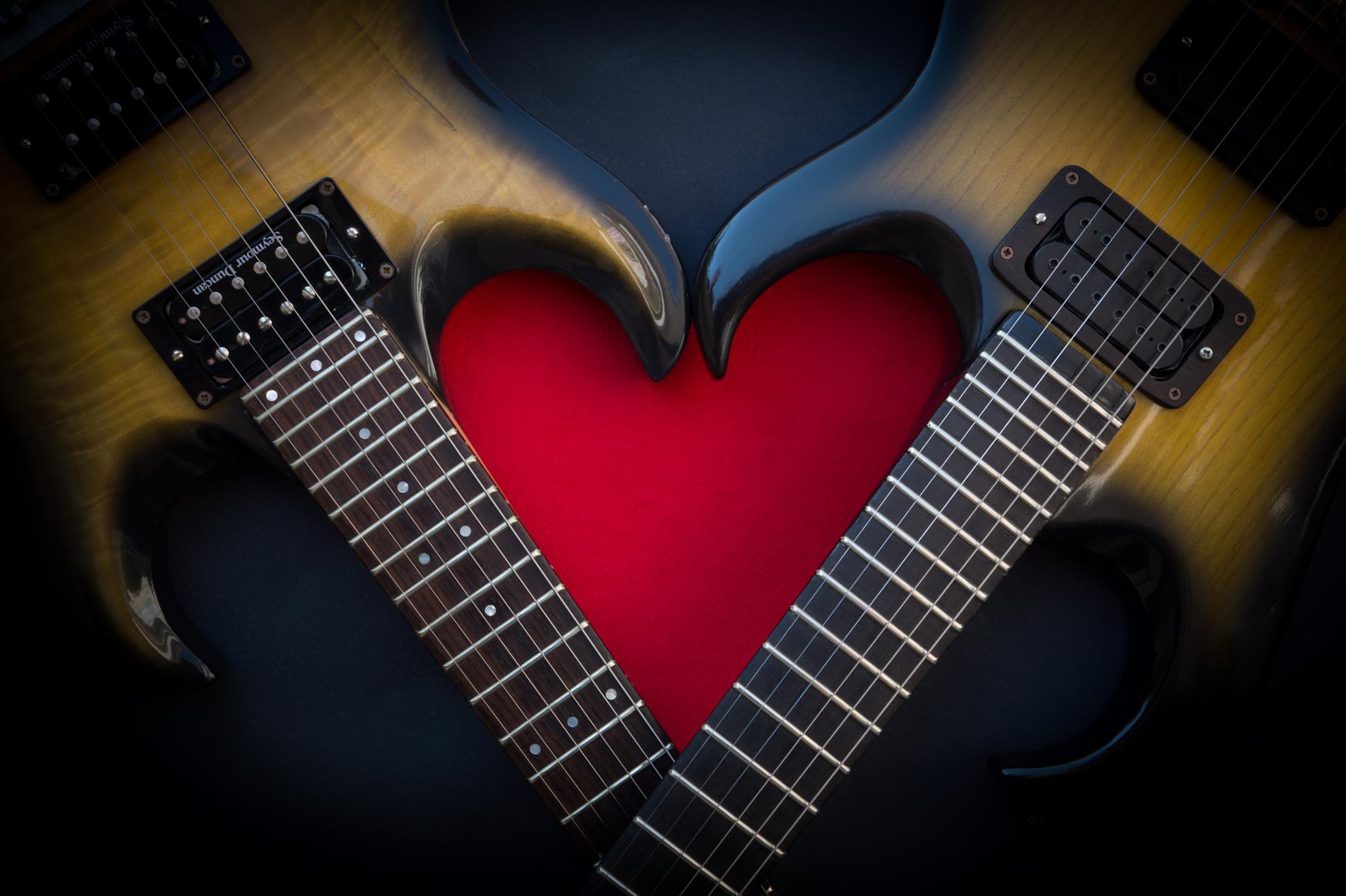 Guitars In Love #1 by mauro.lombardozzi