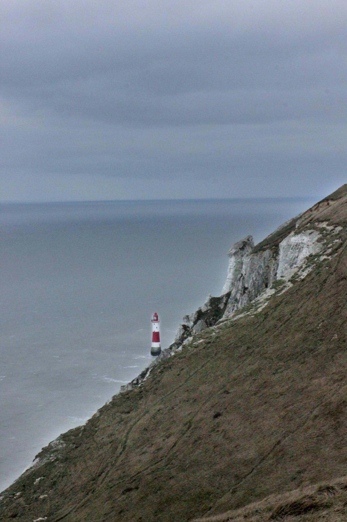 Beachy Head lighthouse by ineta.nachtmann