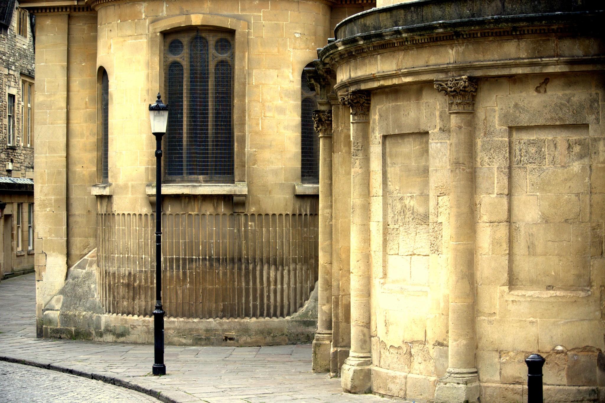 Quiet moment in Bath by Debra Kurs