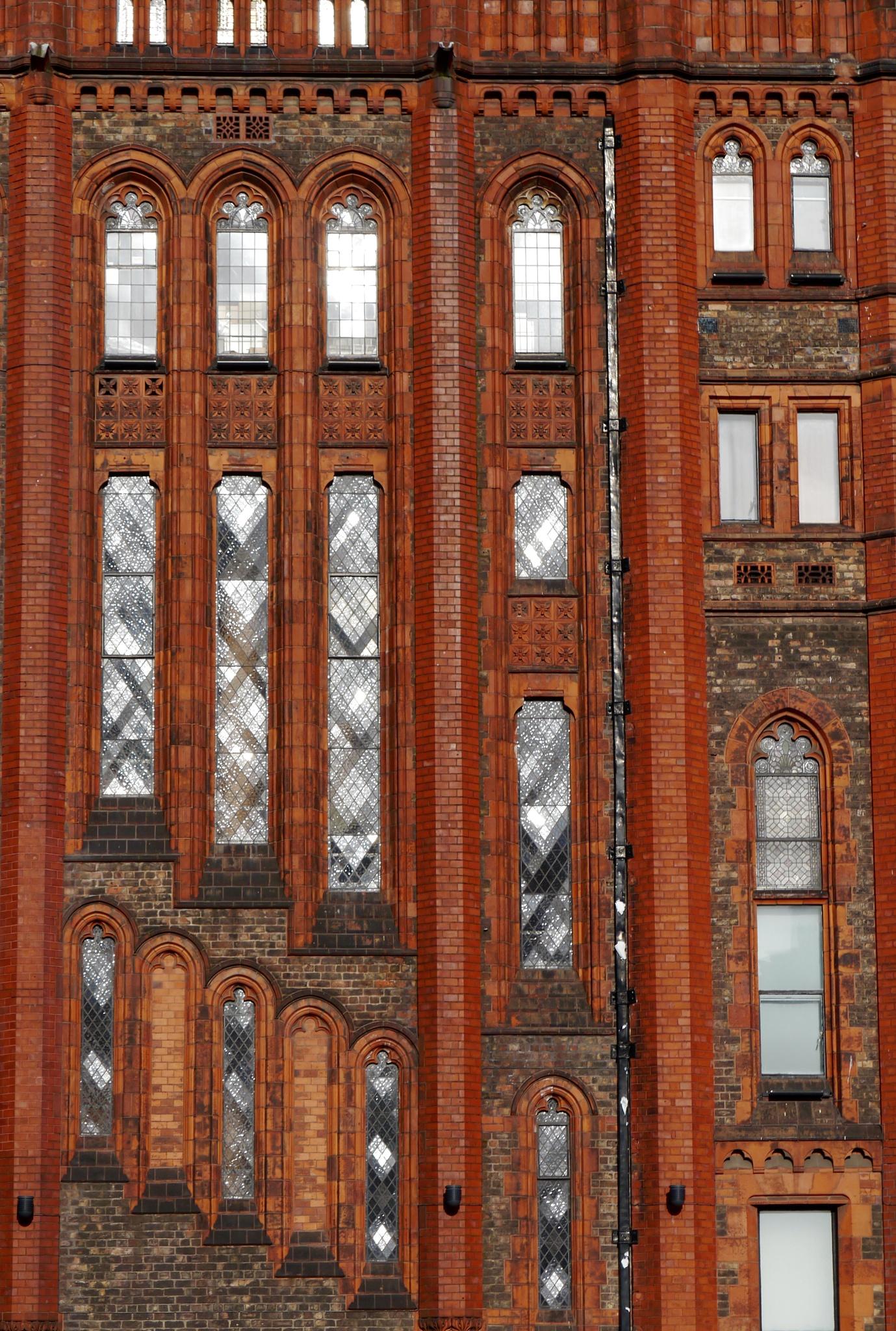 Victorian Building  by Debra Kurs