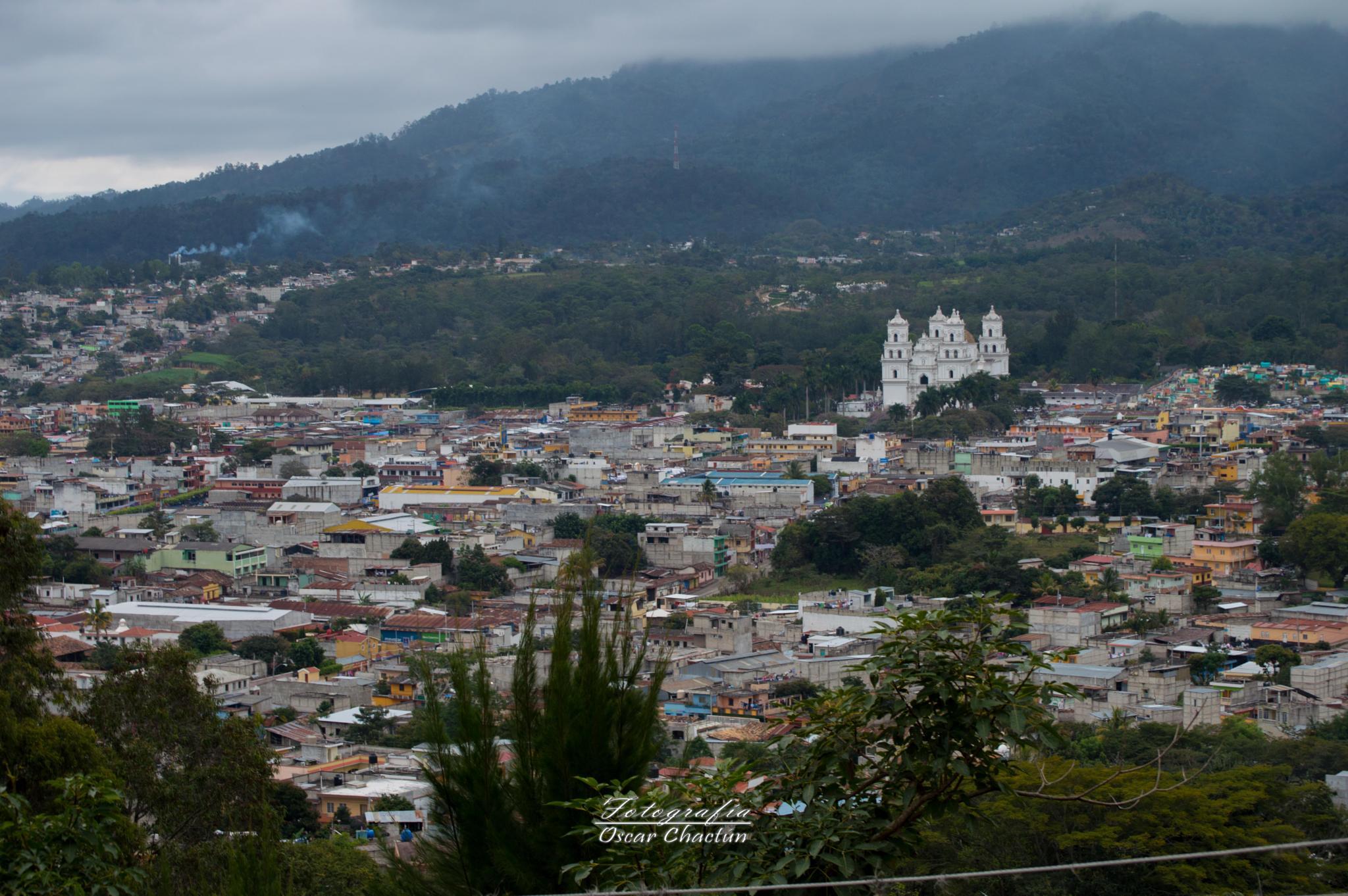 Capital de la Fé Centro America by Oscar Chactun