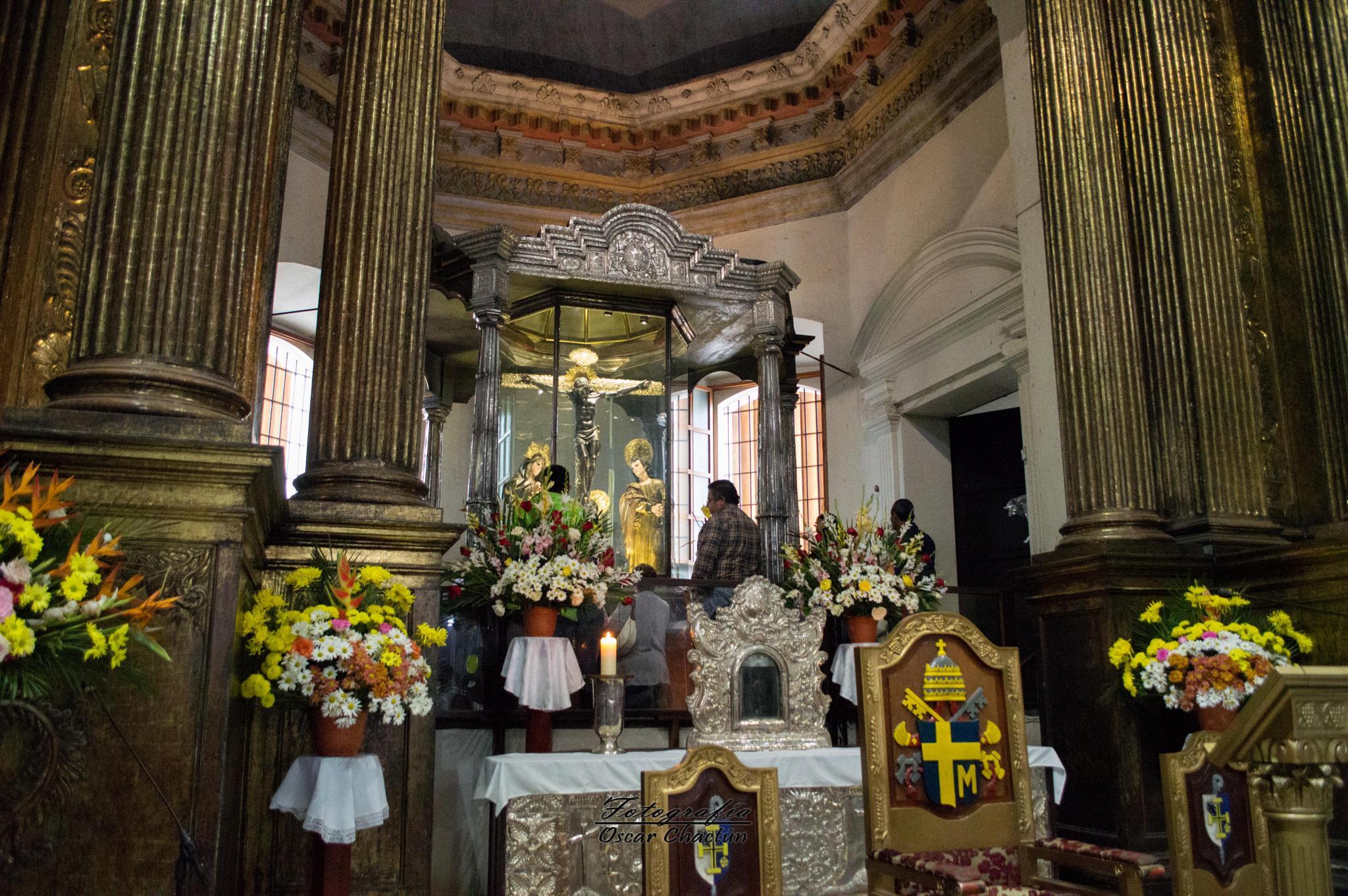 Cristo Negro de Esquipulas by Oscar Chactun