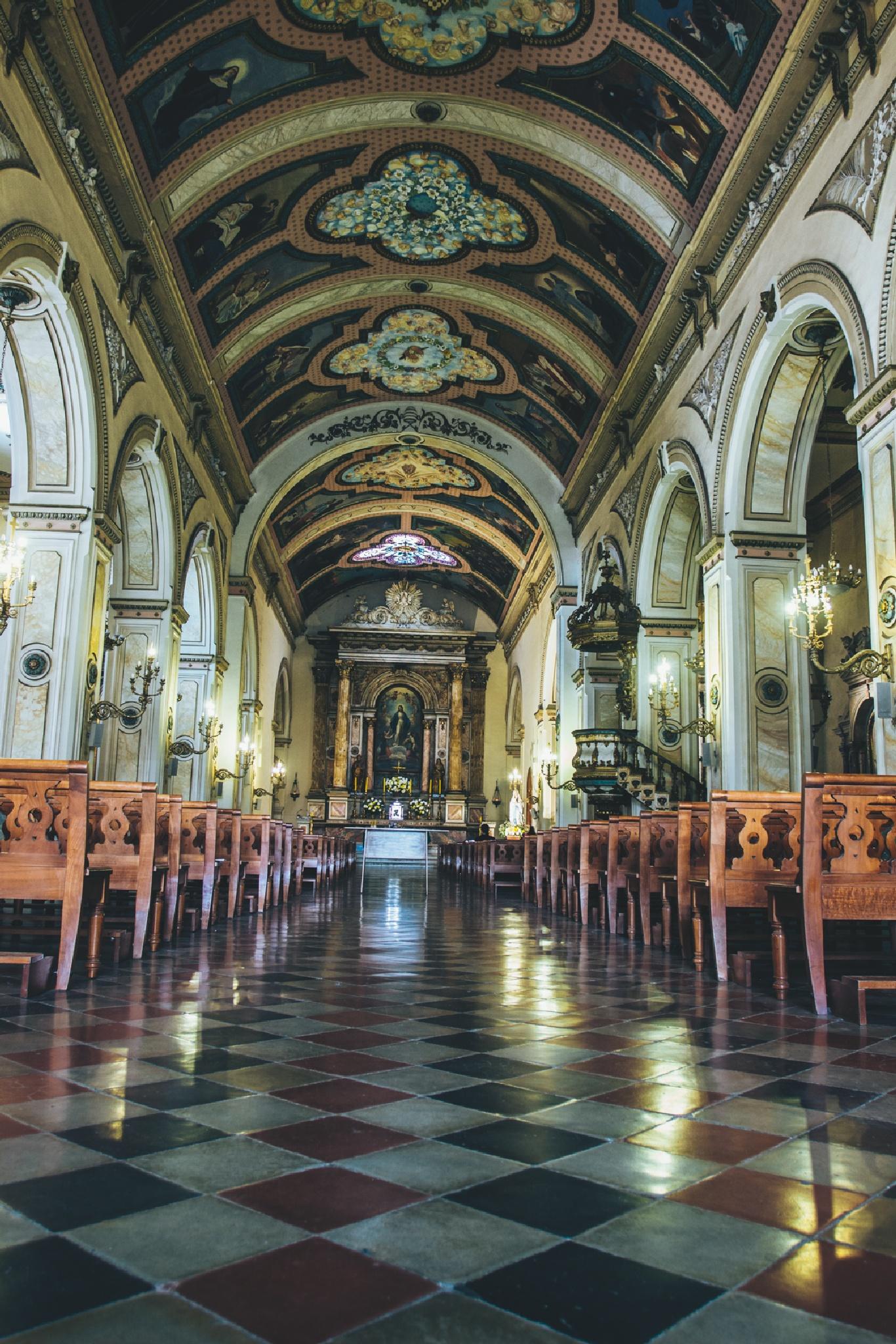 Santiago . Chile Iglesia Las Agustinas by Camilo Towers