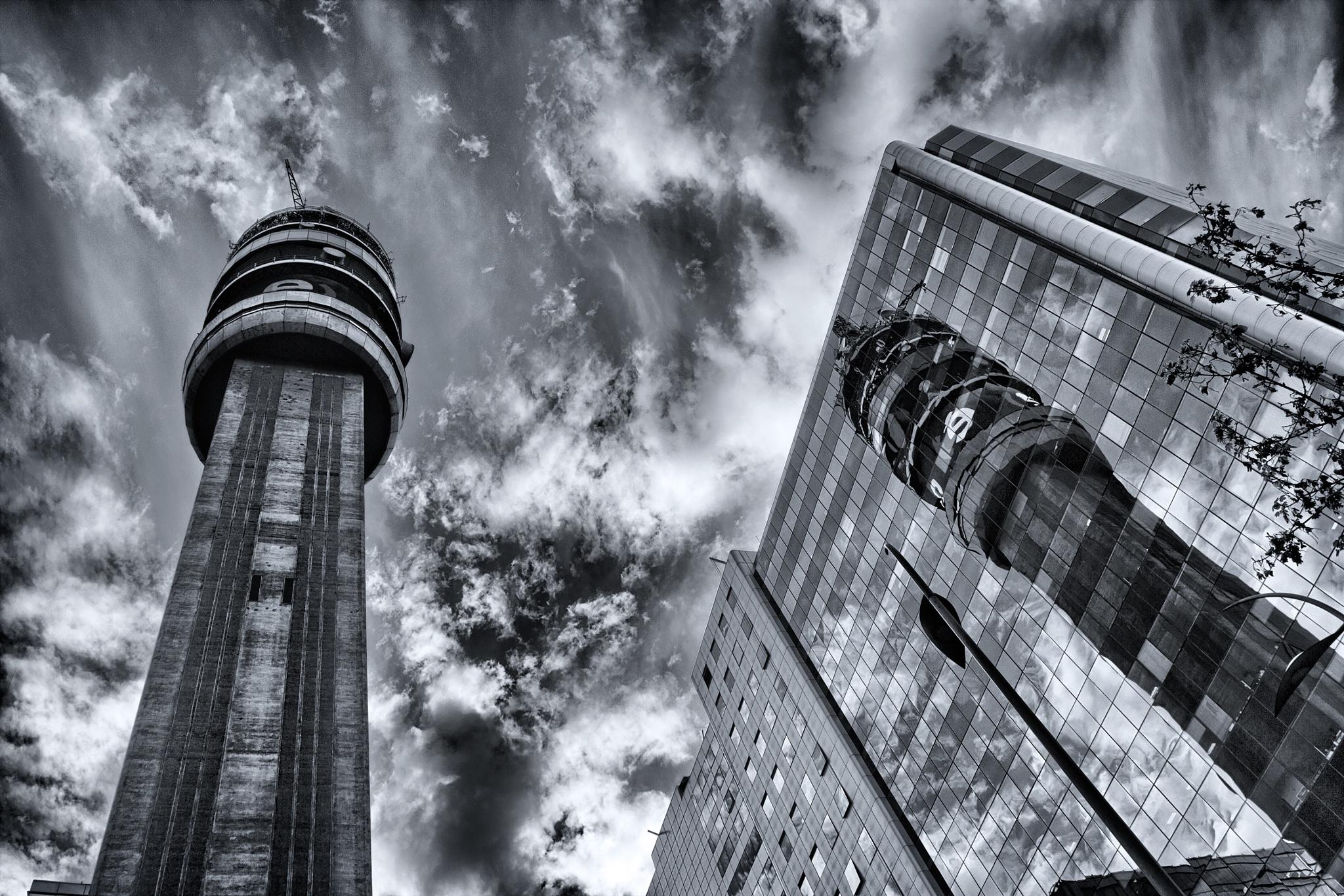 Santiago de chile - Torre Entel by Camilo Towers