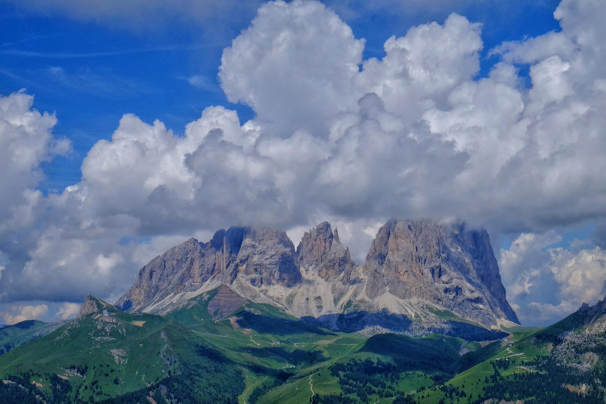 Dolomiti Mountain by stefano.giaconi.56