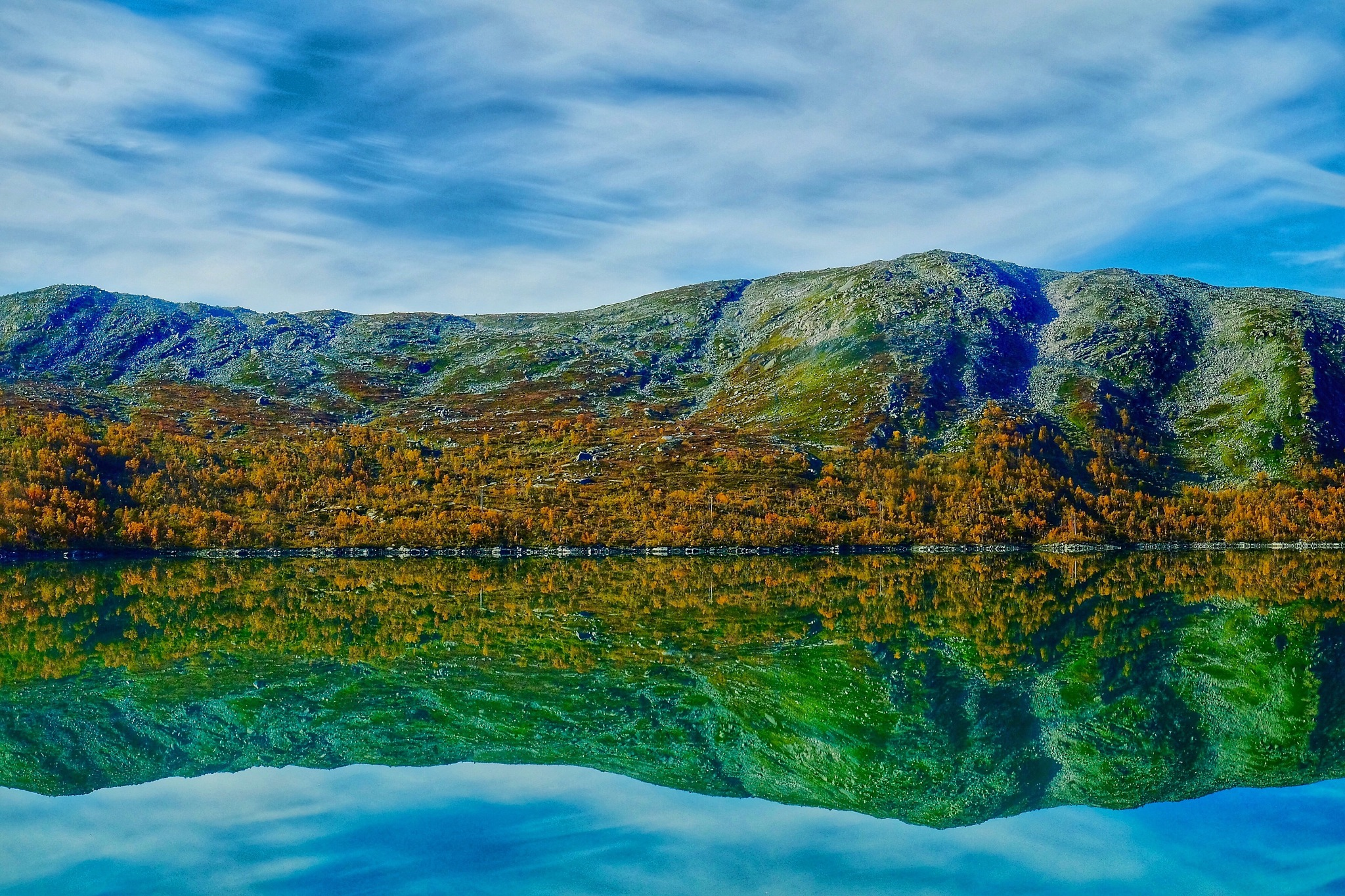 Colorfull autumn in Norway by stefano.giaconi.56