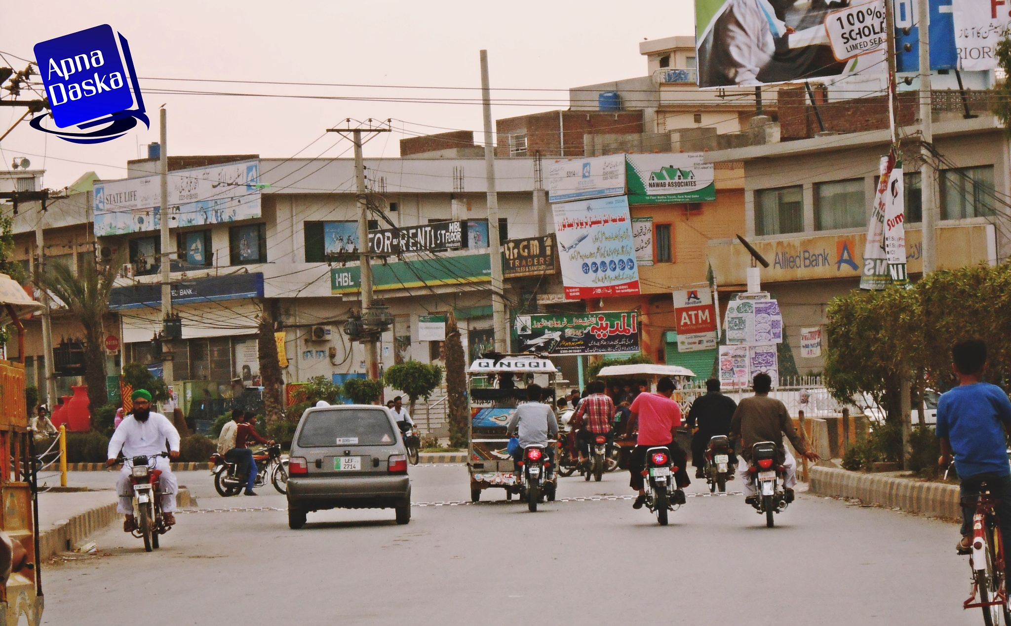 Road of Daska , Pakistan by Ammar Shaukat