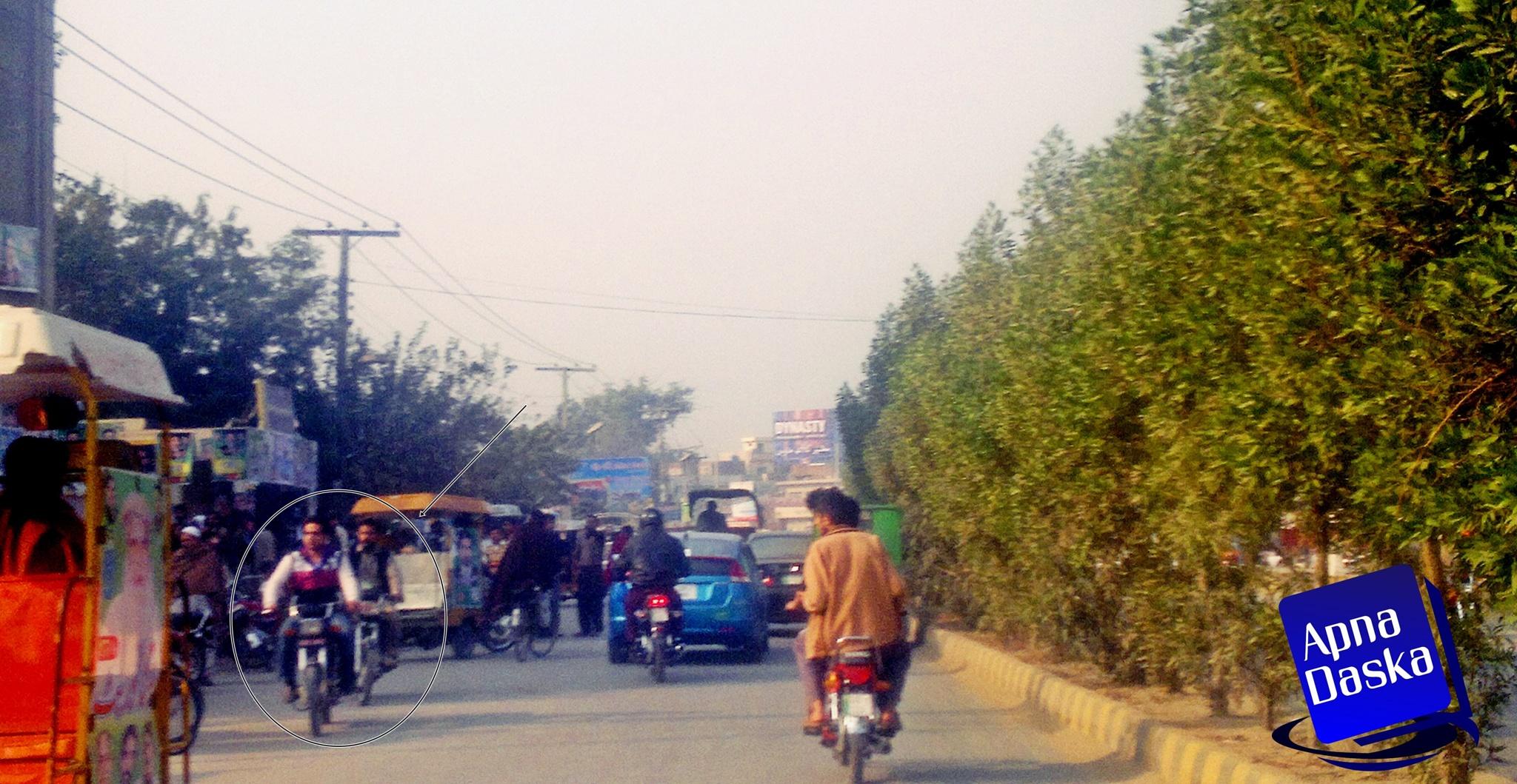Road Daska Pakistan by Ammar Shaukat