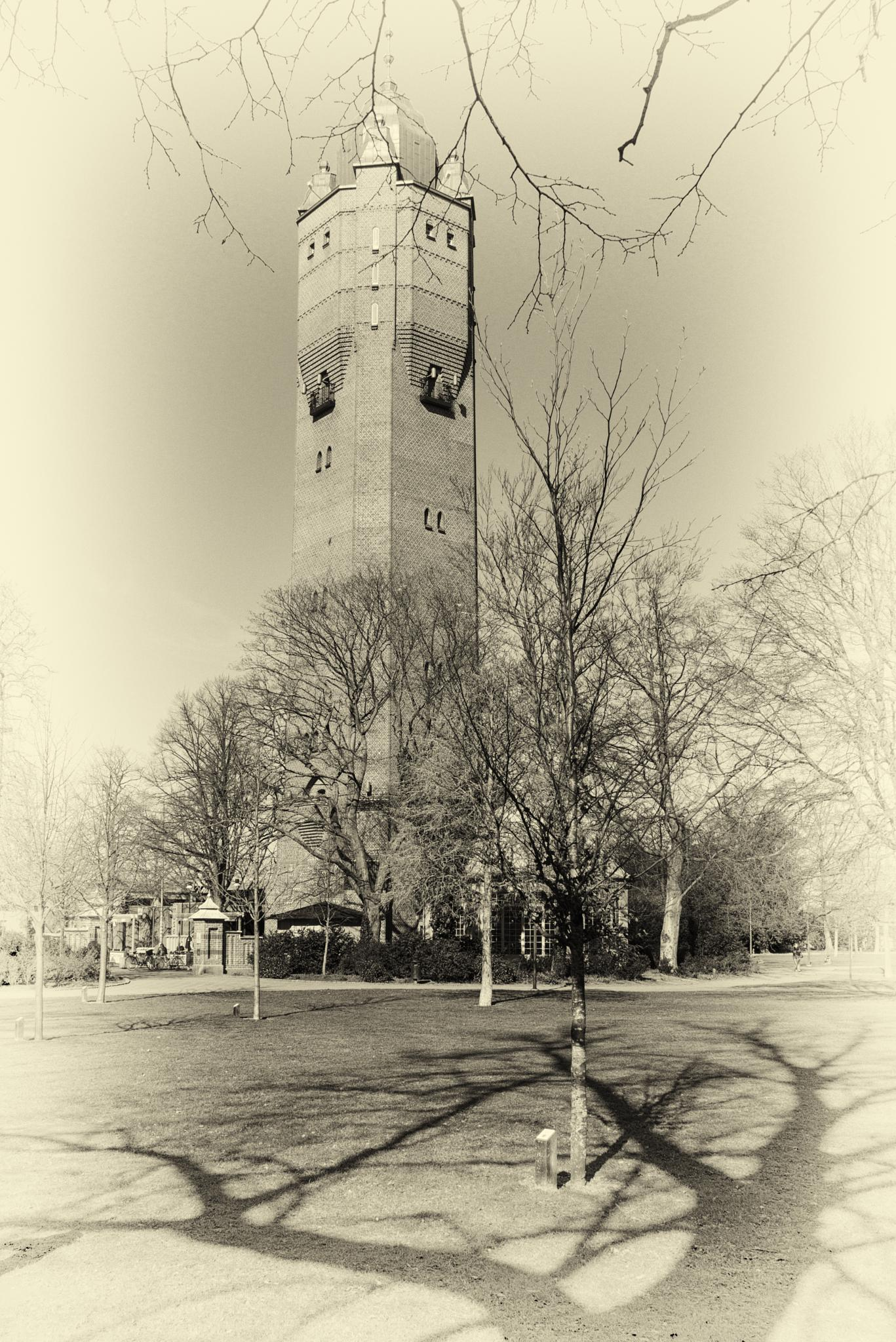 Old Water Tower by Leif Heering