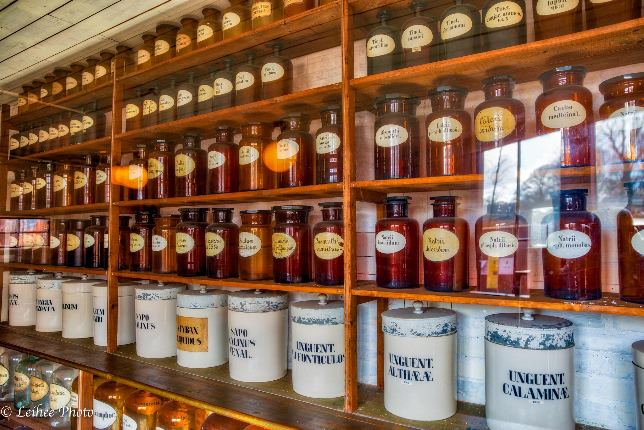 Old Pharmacy by Leif Heering
