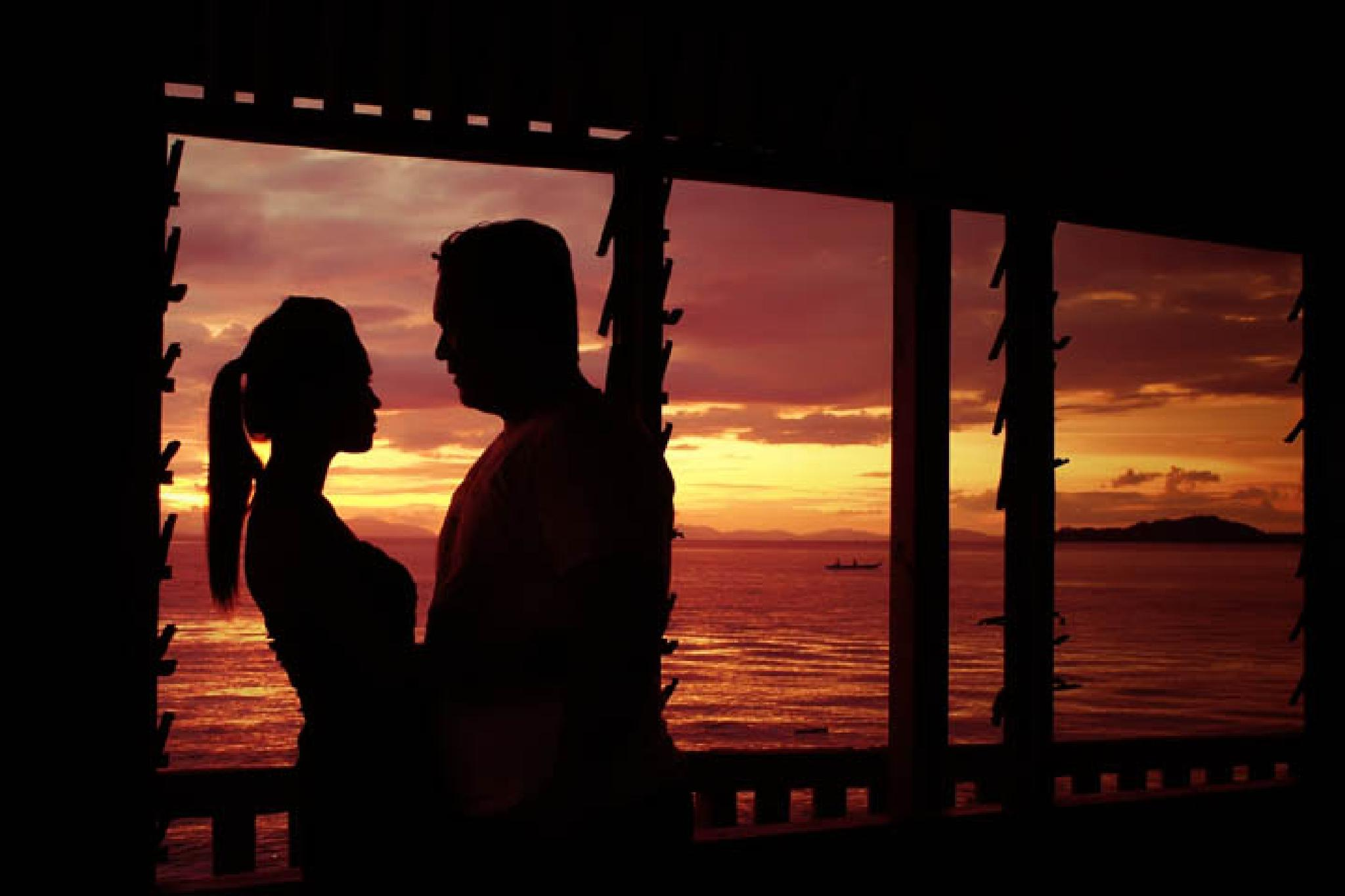 Silhuette Prewedding by Hamzah Zain