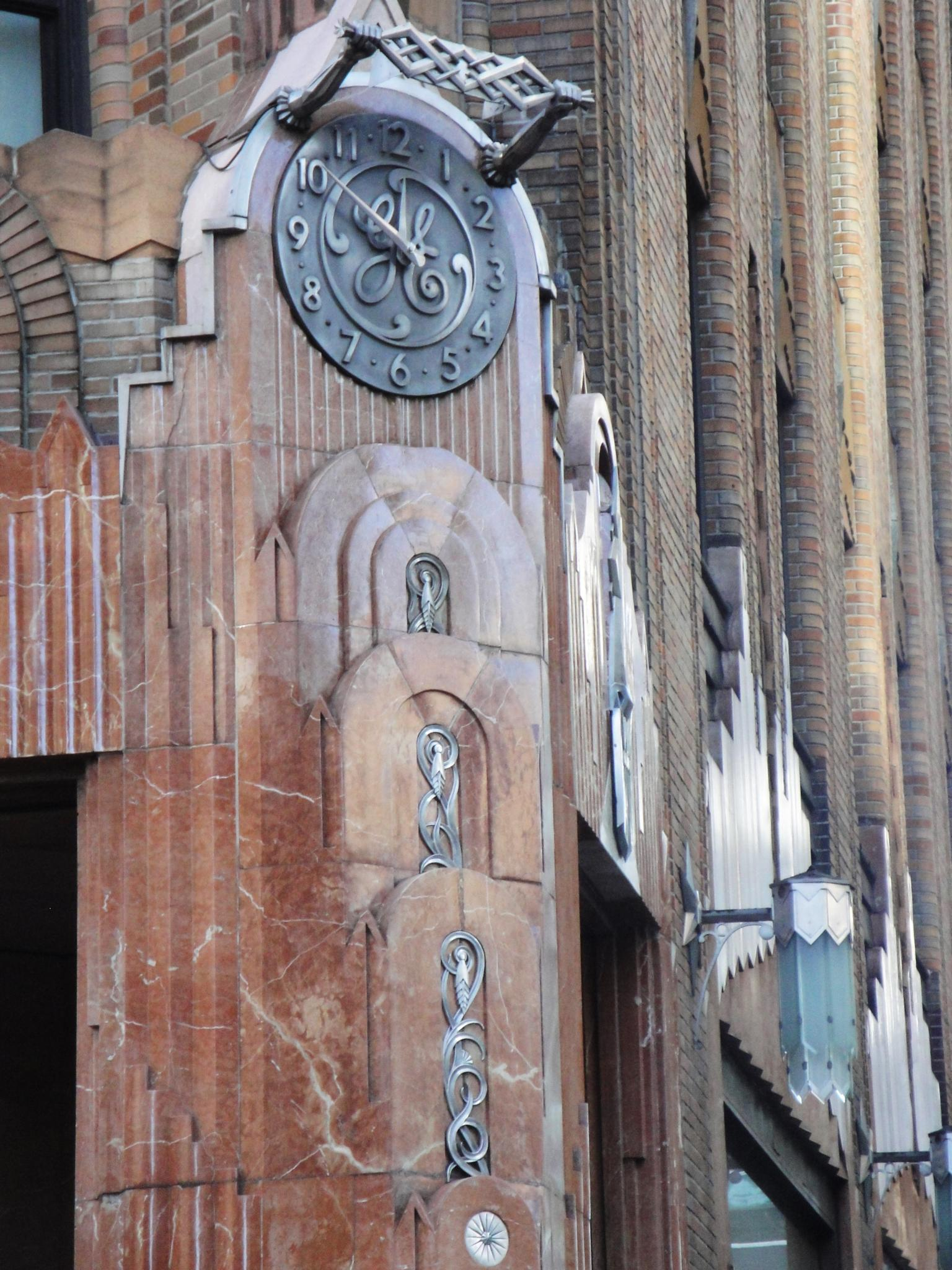 The Art Deco facade, The Beekman Tower Hotel, NYC by steve.talbot.180