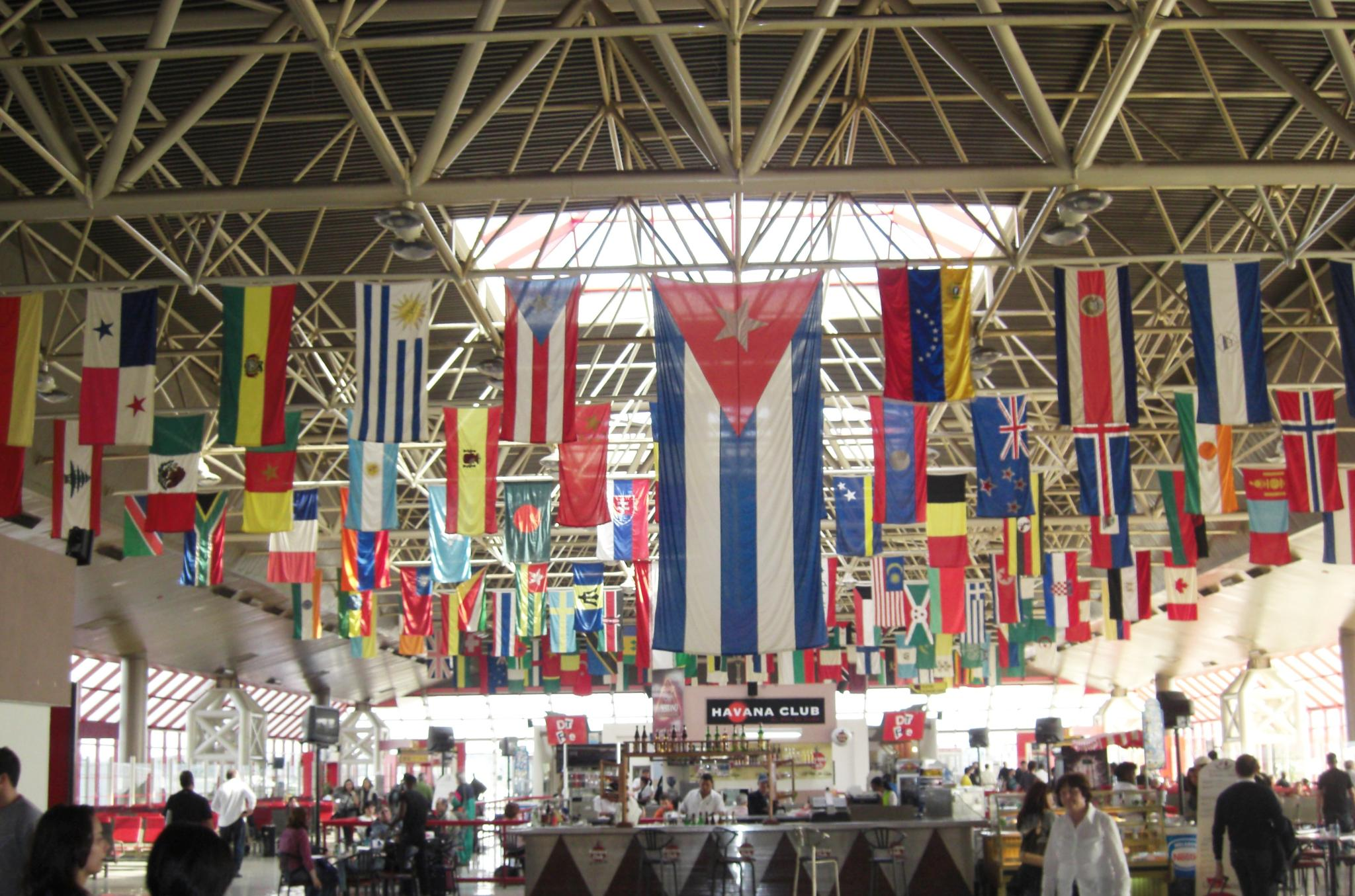 Flags of the World, Havana Airport by steve.talbot.180