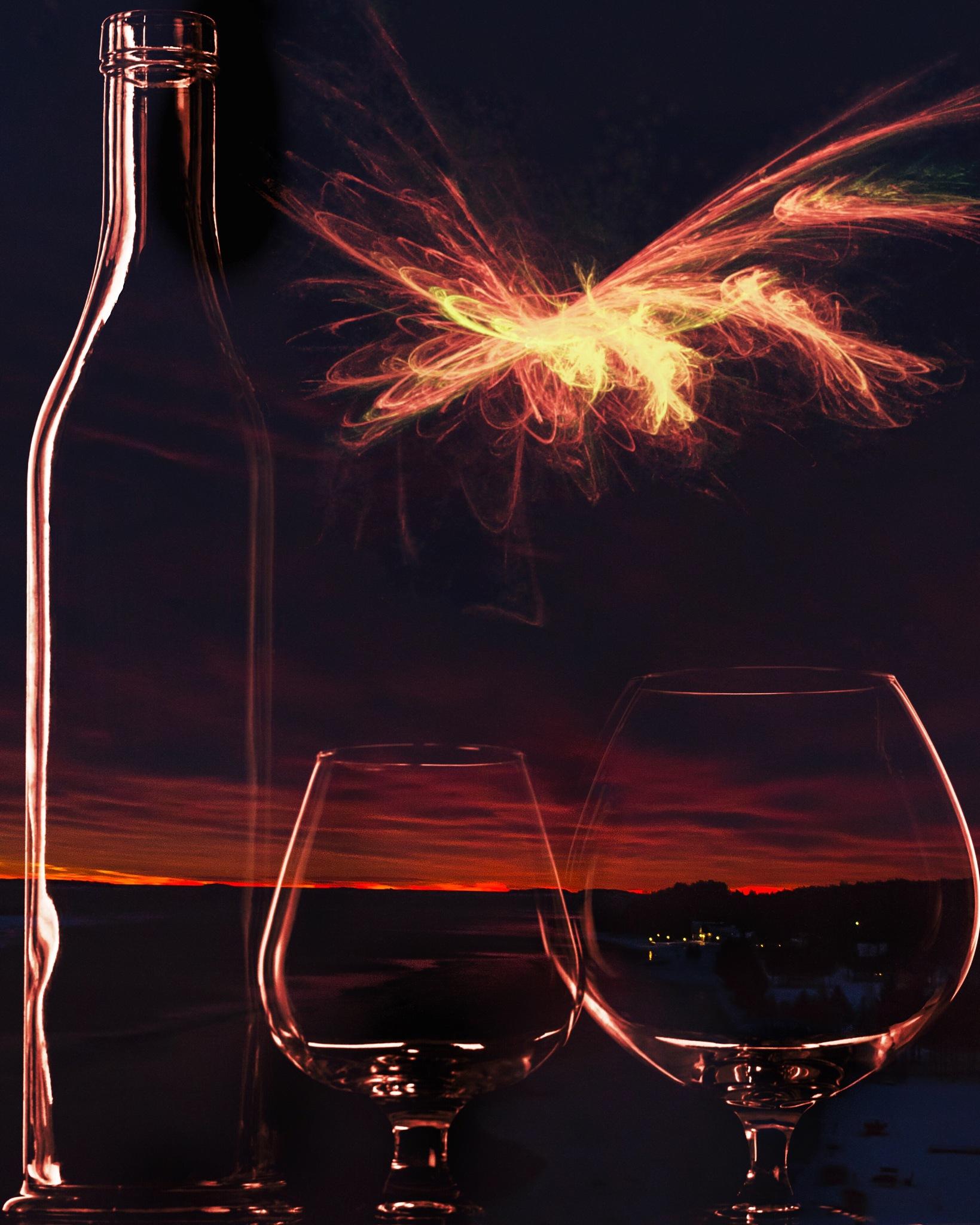 Burgundy sunrise by katarina.wikberg.3