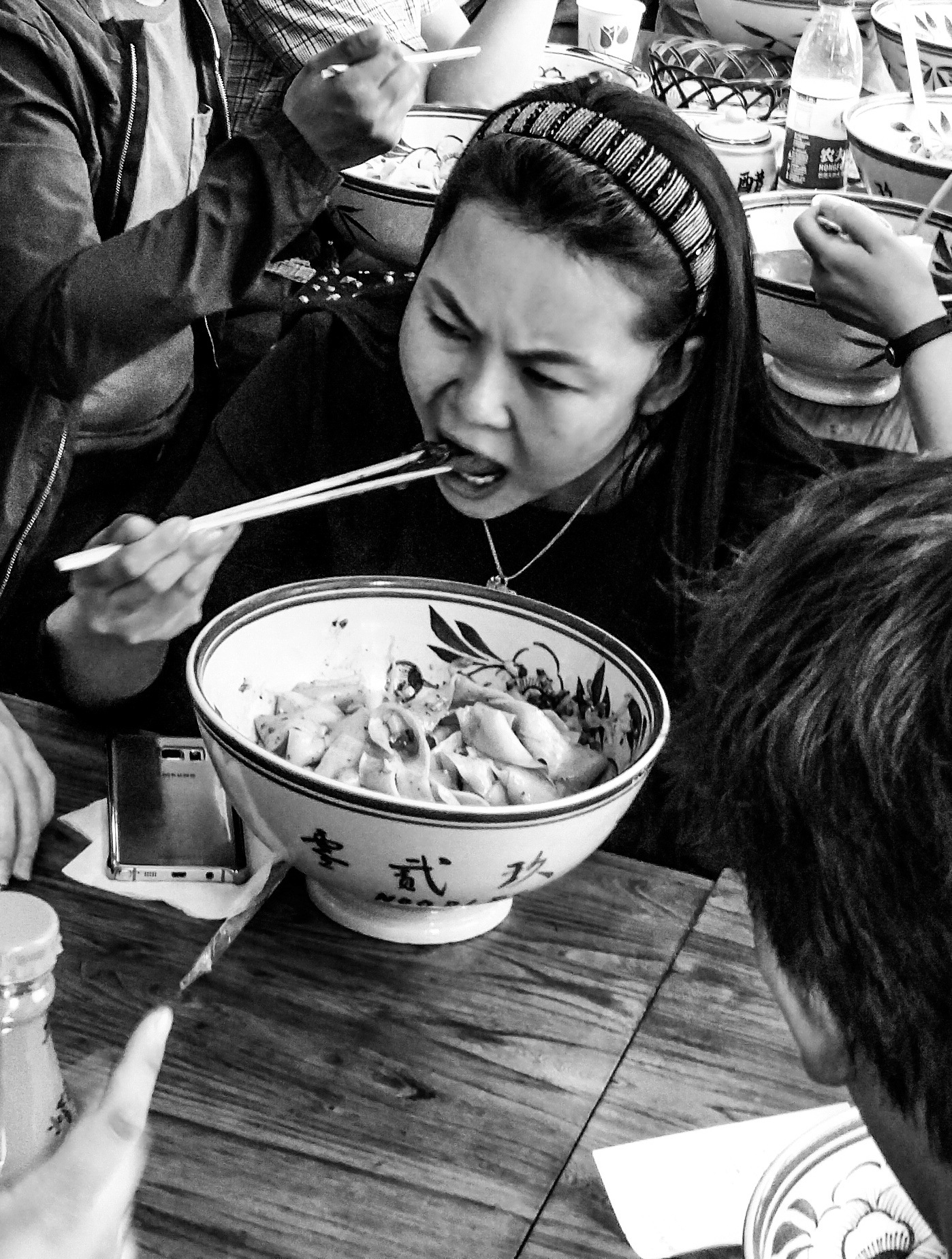 Eating in Beijing  by Christer Lindblad