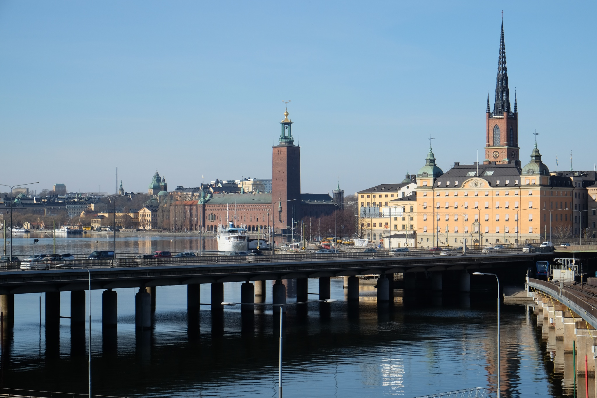 Stockholm city by Christer Lindblad