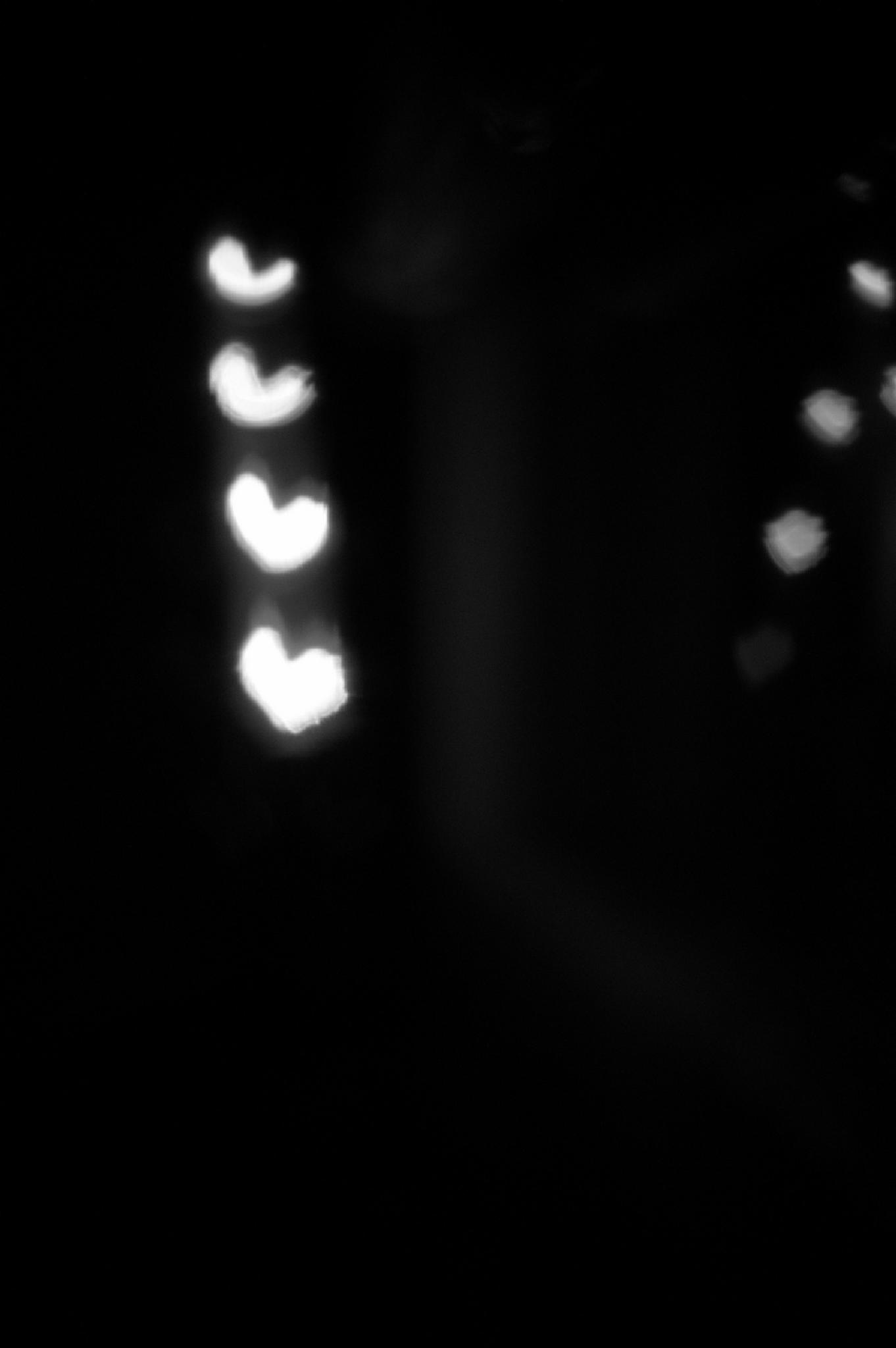 bokeh hearts by InaApla