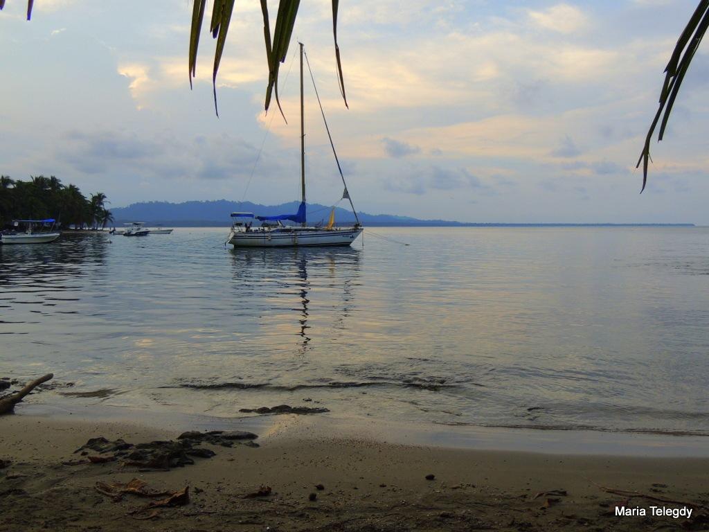 Sunset sailng by maria.telegdy