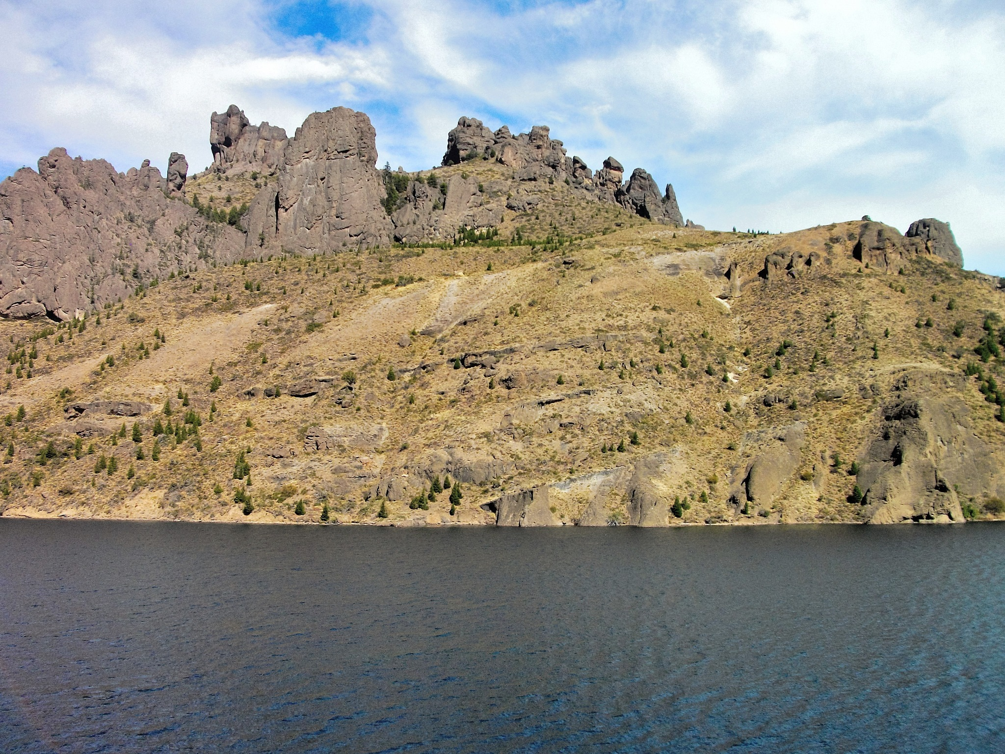 Rock castle in Patagonia by maria.telegdy