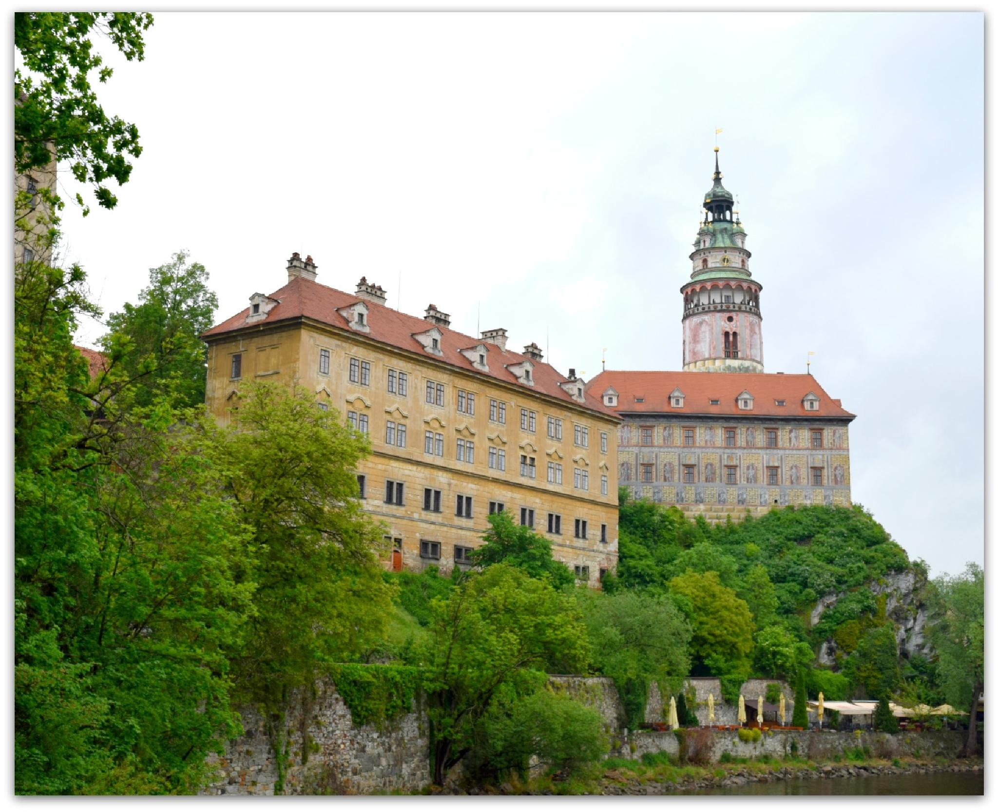 Chesky Krumlov castle by maria.telegdy