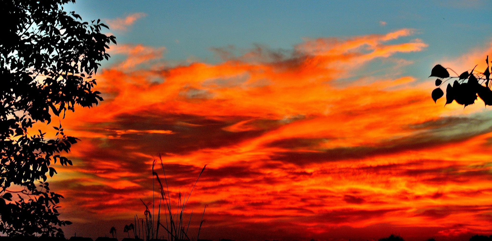 Drama in the sky by maria.telegdy