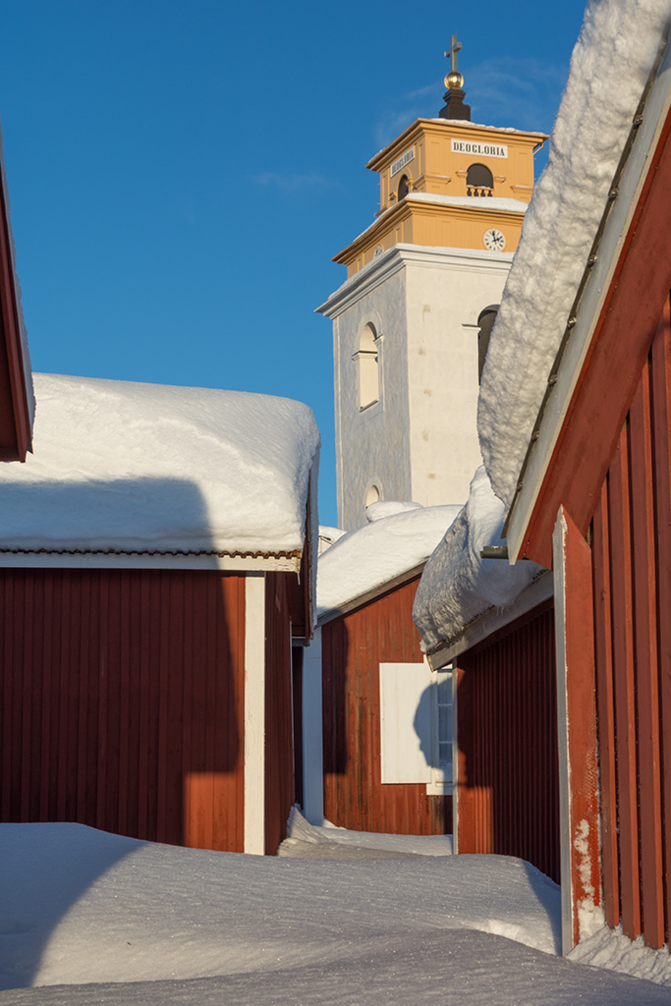 Churhtown in Gammelstad by MargaretaG