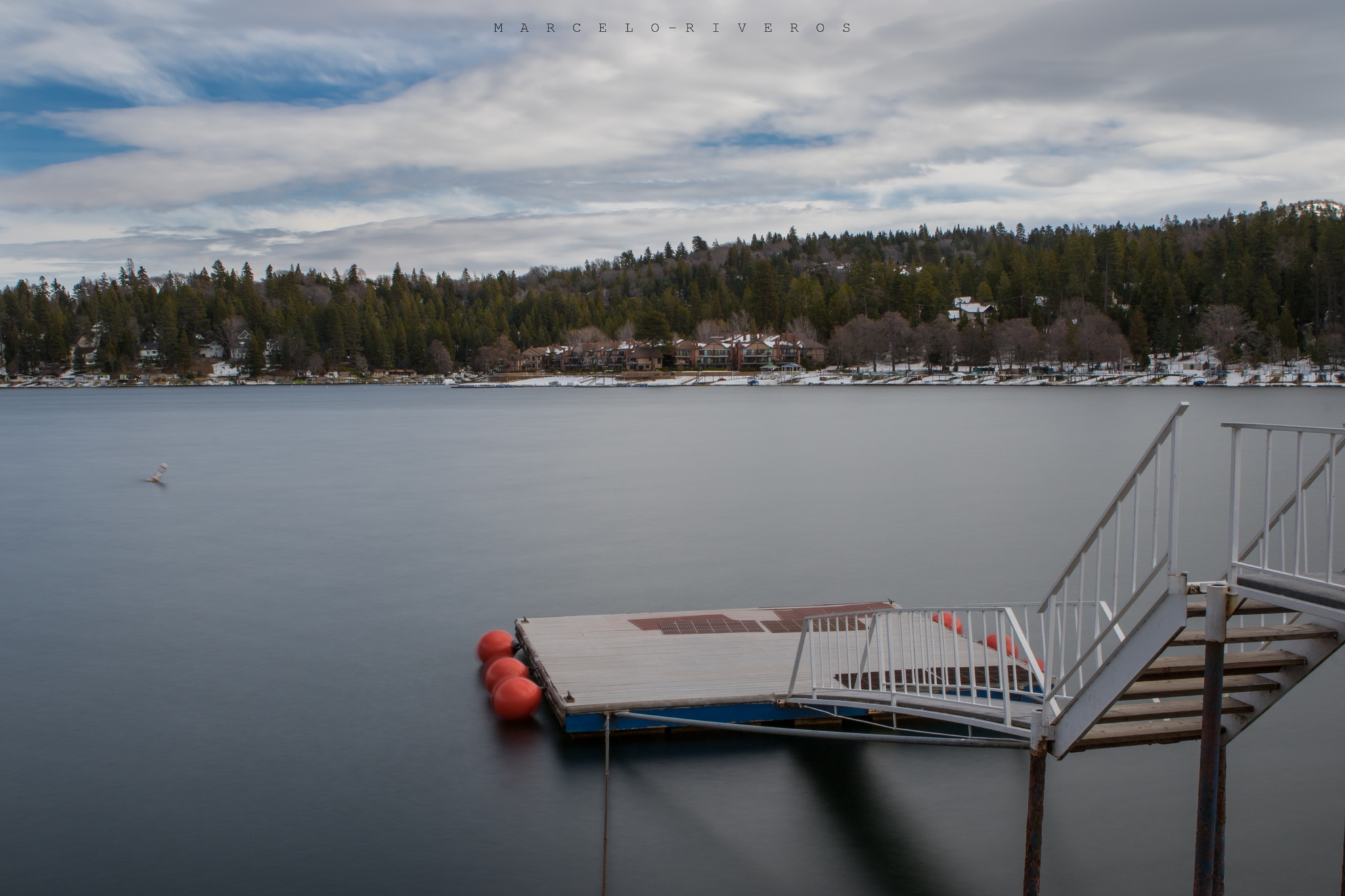 Lake Arrowhead Village by Marcelo Riveros