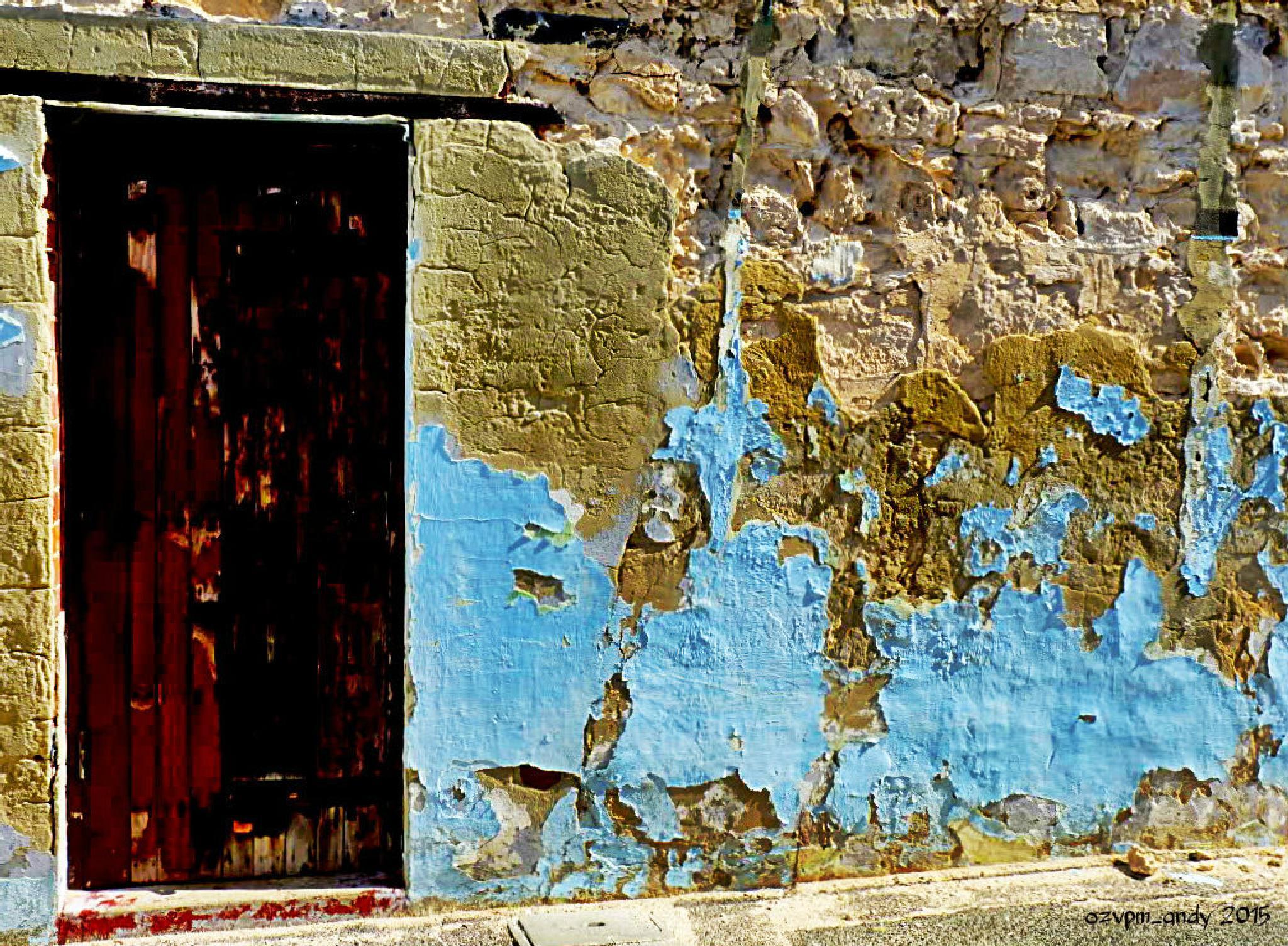 Eroding walls by Andy Fryar