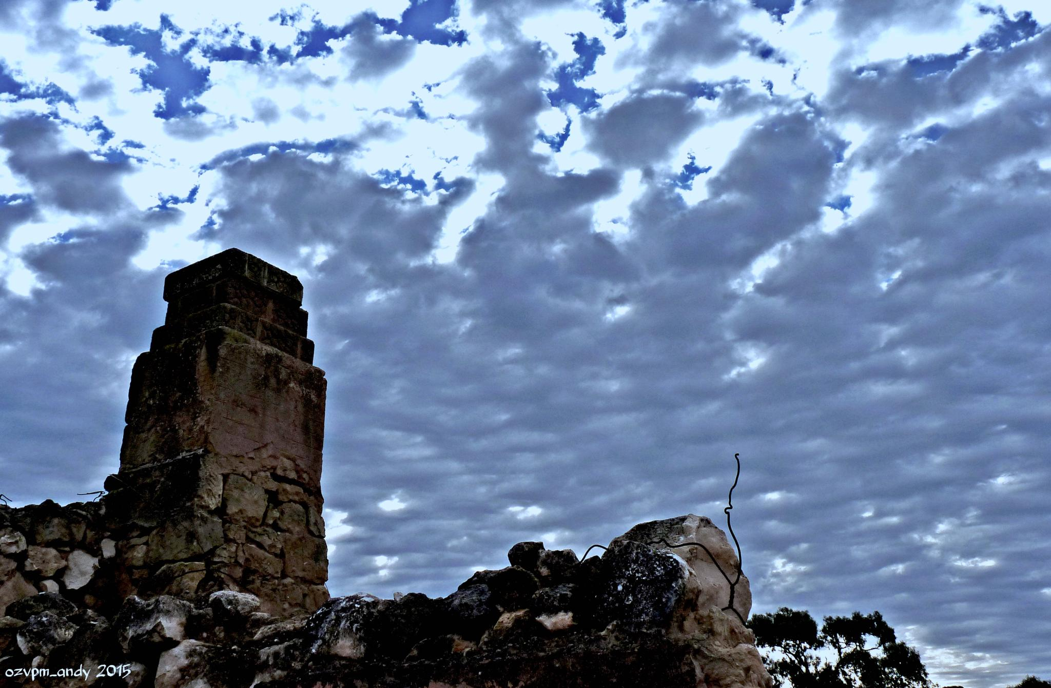 Riverland Ruins IV by Andy Fryar