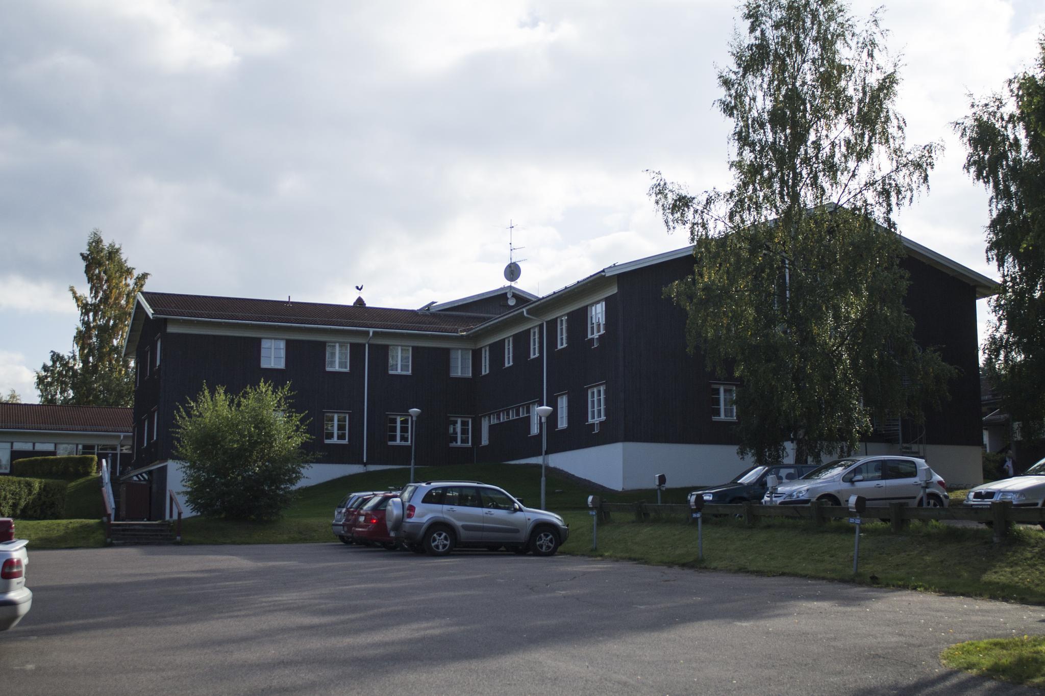 Folk high school for the deaf at Västanvik by Carl Hult