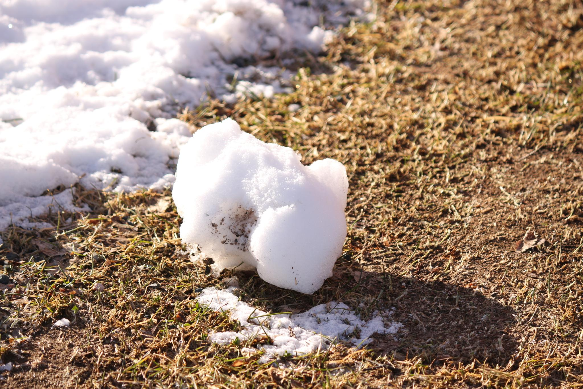Snow lump by Carl Hult