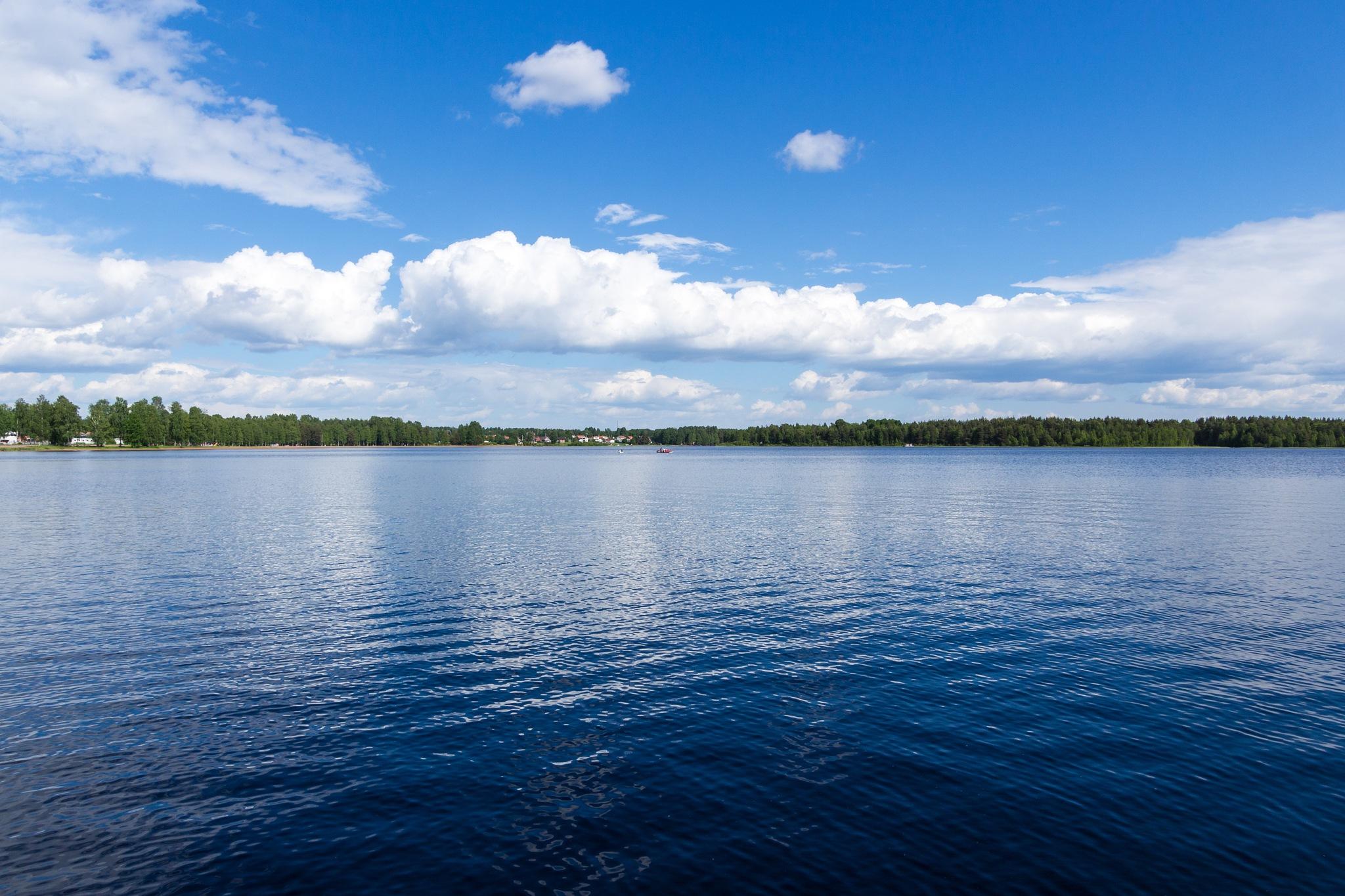 Lake Siljan by Carl Hult