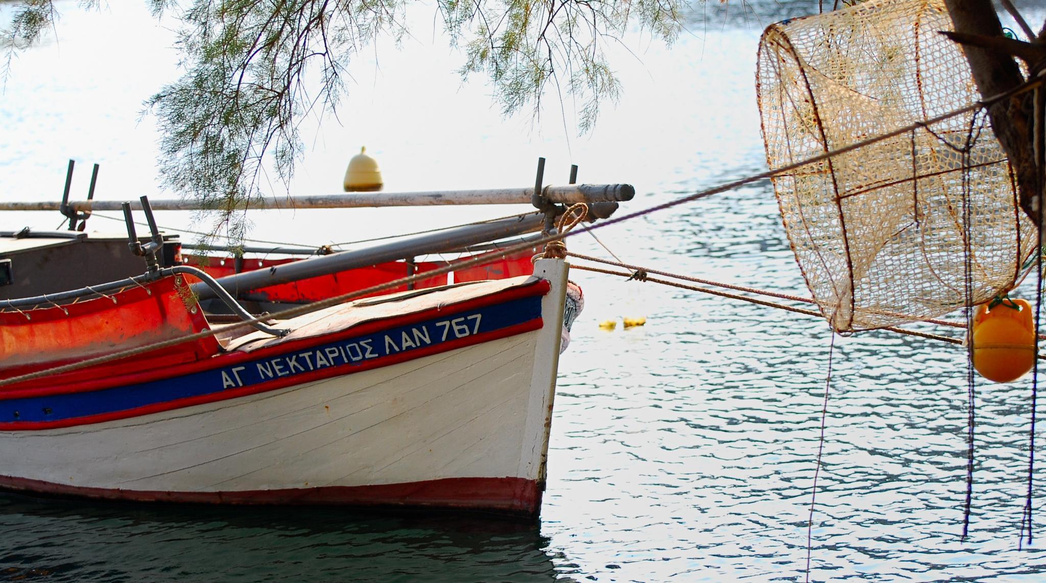 fishing boat by ciocca.alessandro