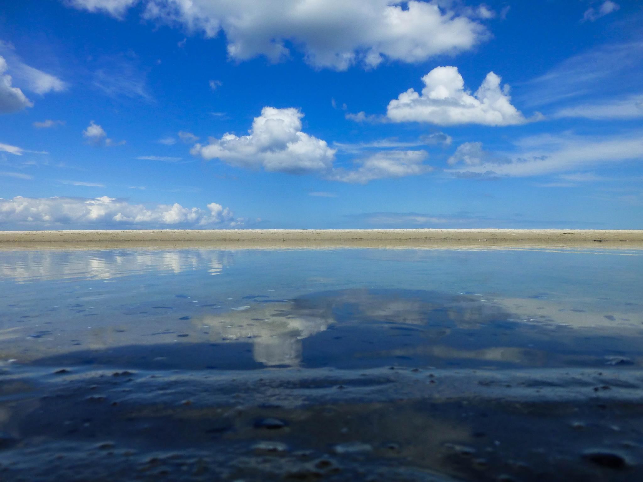Sky or water by werner gruse