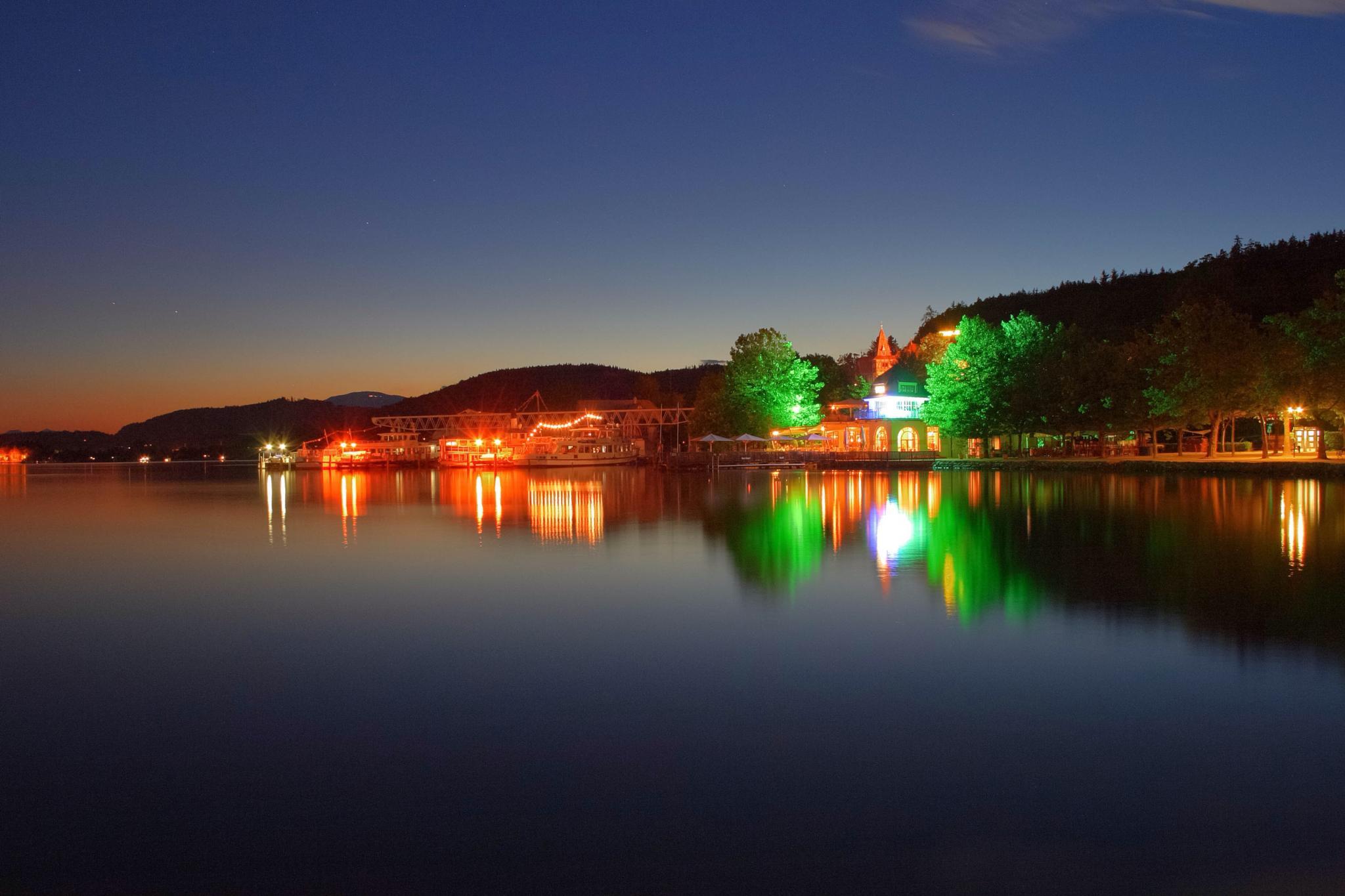Harbor Klagenfurt by werner gruse