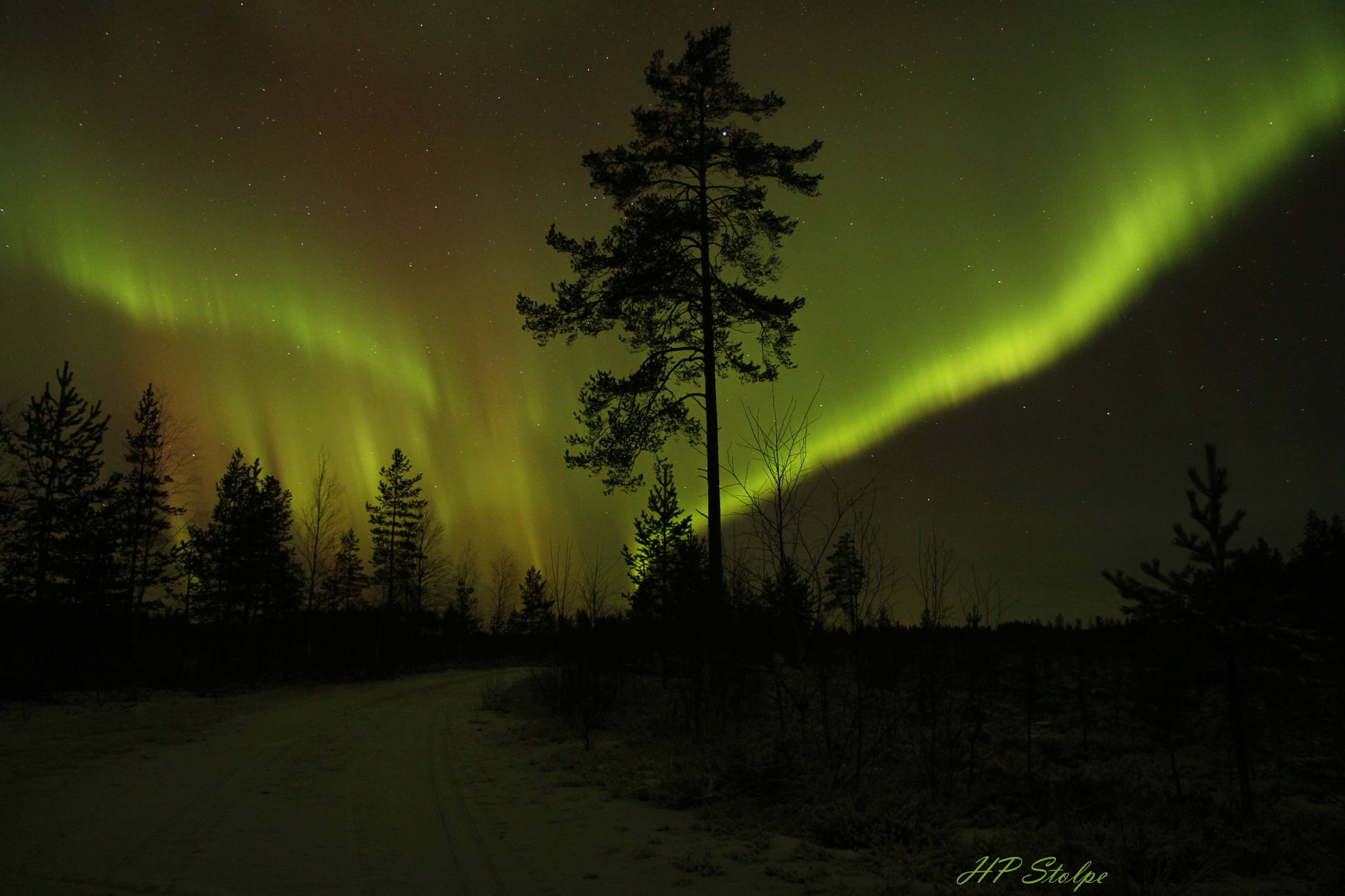 Northern light by HansPeter Stolpe