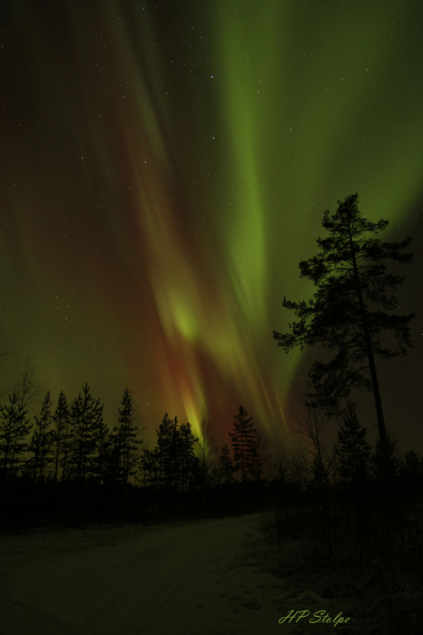 Nothern lights by HansPeter Stolpe