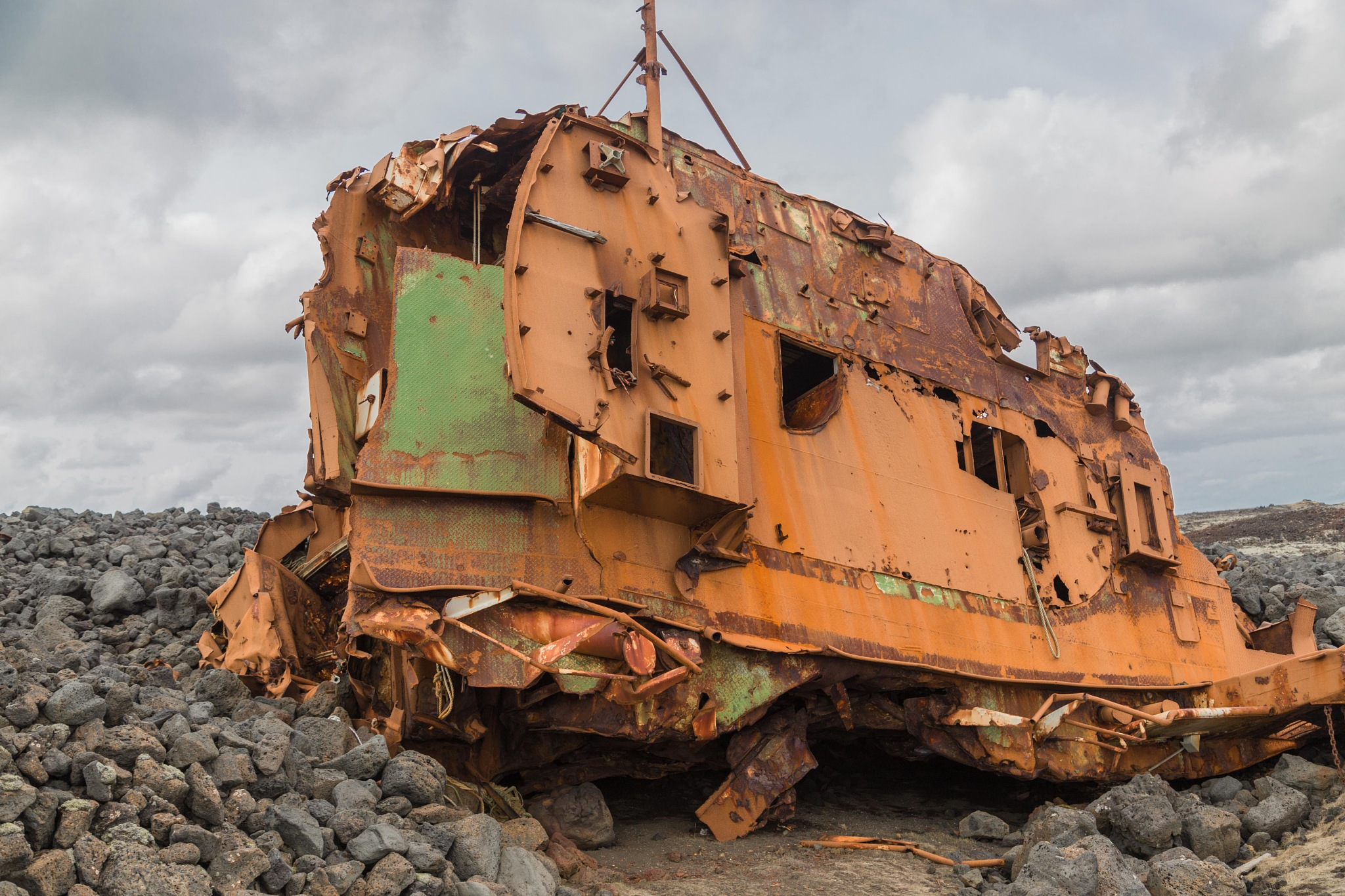 Shipwreck by charles desrosiers